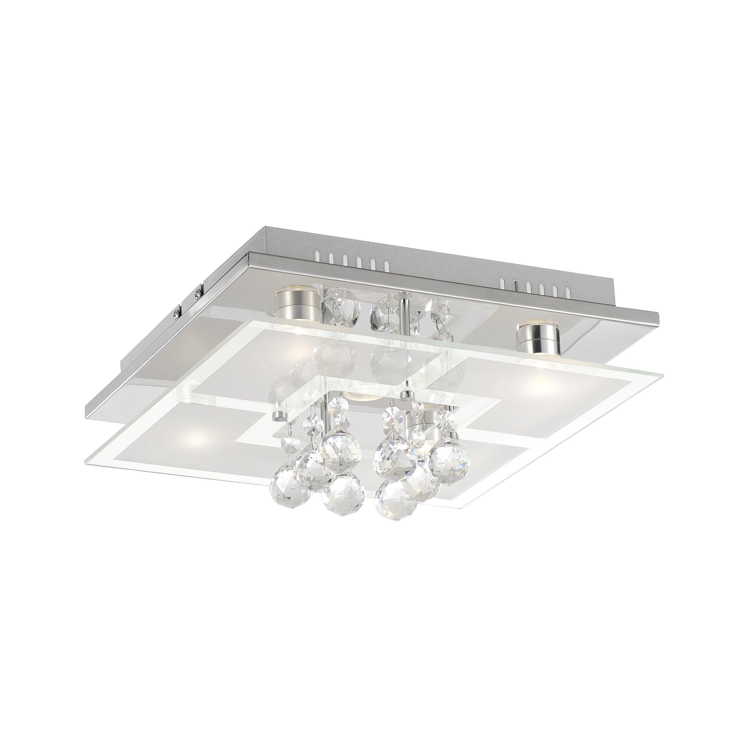 Paul Neuhaus Chiron 5 Light Flush Ceiling Light Wayfair Uk