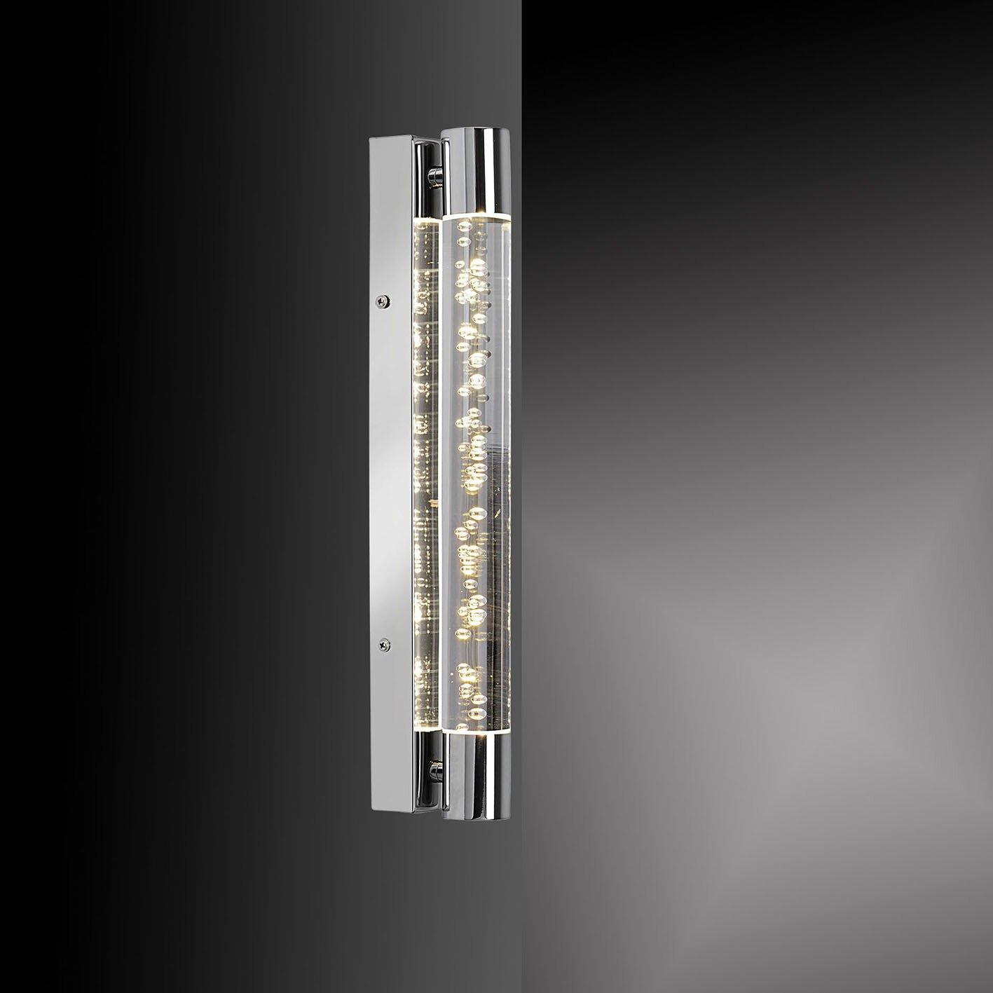 paul neuhaus bubbles 2 light wall light wayfair uk. Black Bedroom Furniture Sets. Home Design Ideas