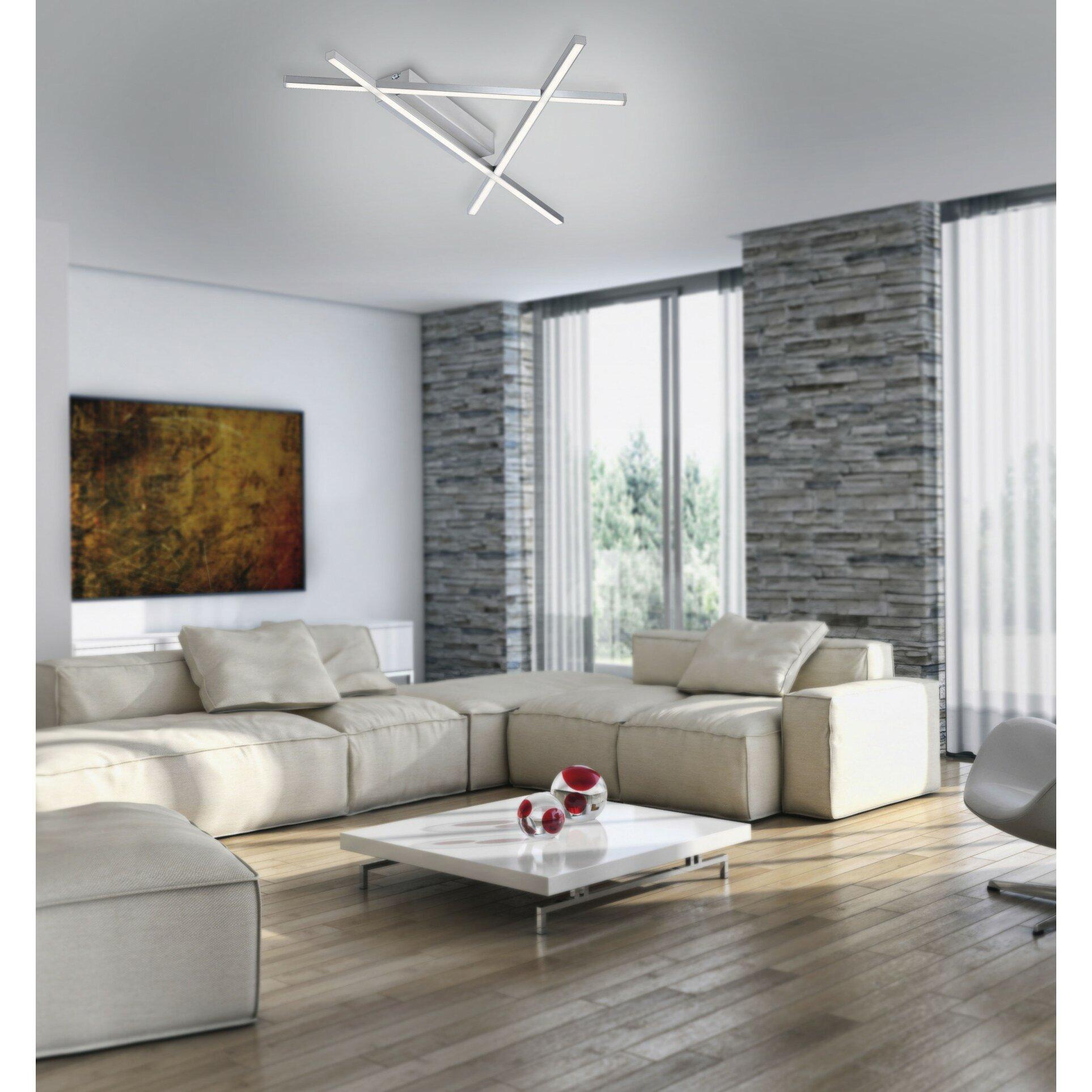paul neuhaus deckenleuchte 3 flammig stick 2 bewertungen. Black Bedroom Furniture Sets. Home Design Ideas