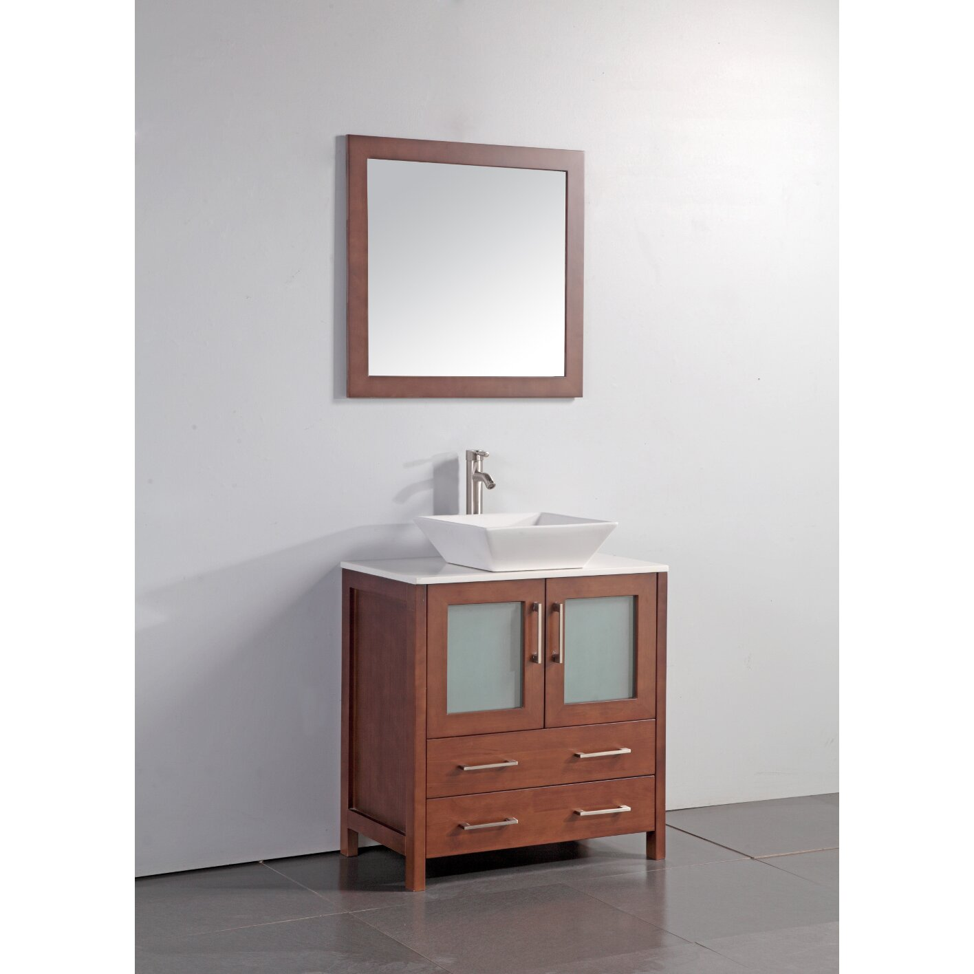 Legion furniture 30 single bathroom vanity set with for Bathroom furniture sets