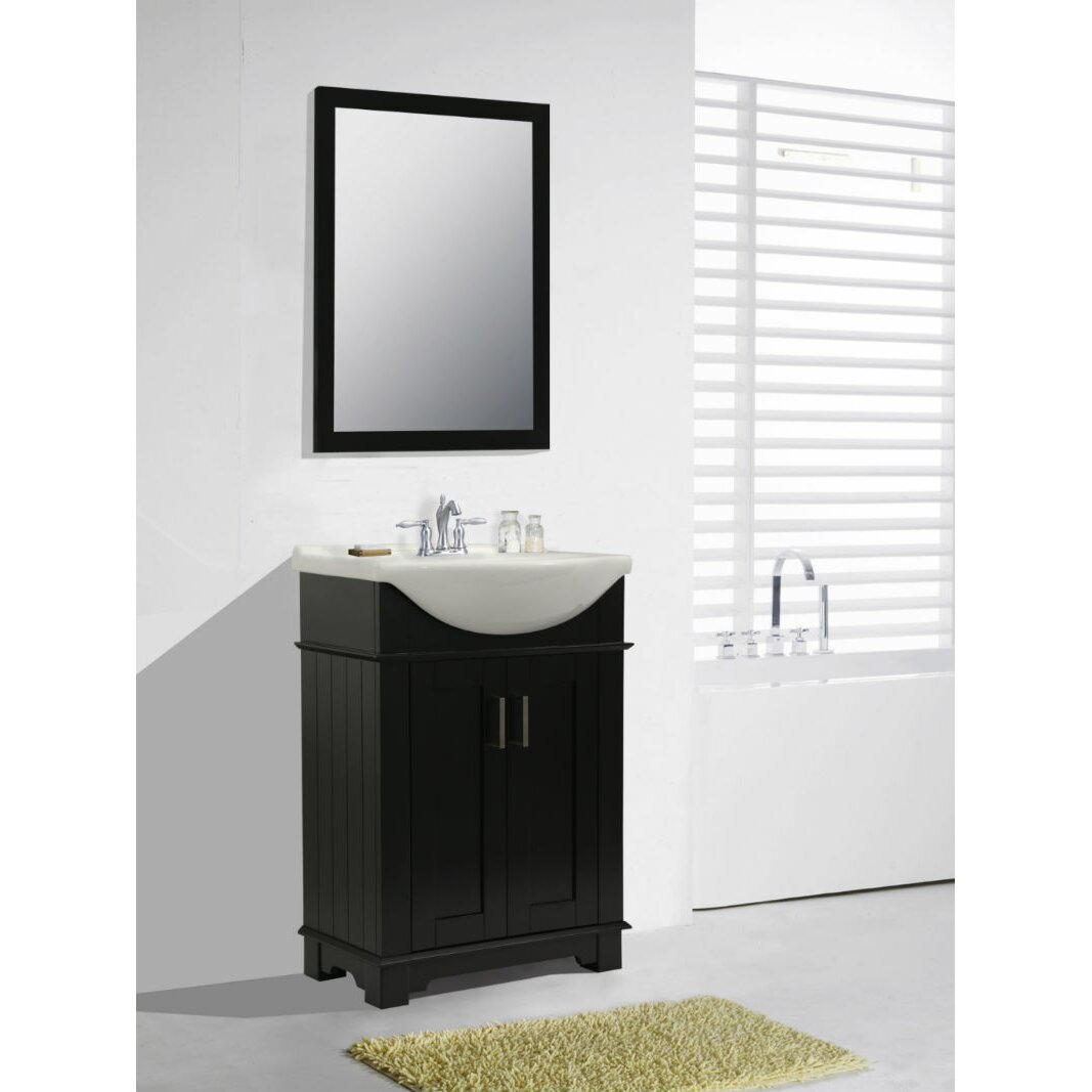 "Legion Furniture 24"" Single Bathroom Vanity Set & Reviews"