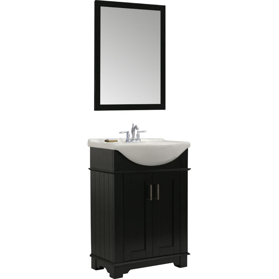 Legion furniture 24 single bathroom vanity set reviews for Bathroom picture sets