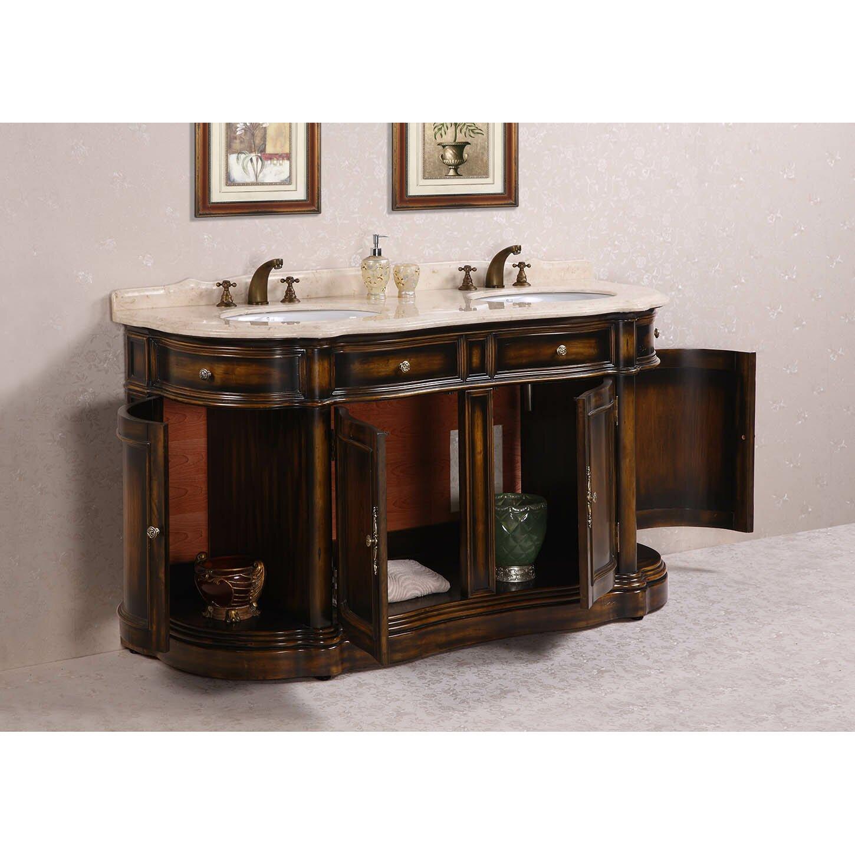 Legion Furniture 66 Double Bathroom Vanity Set Wayfair