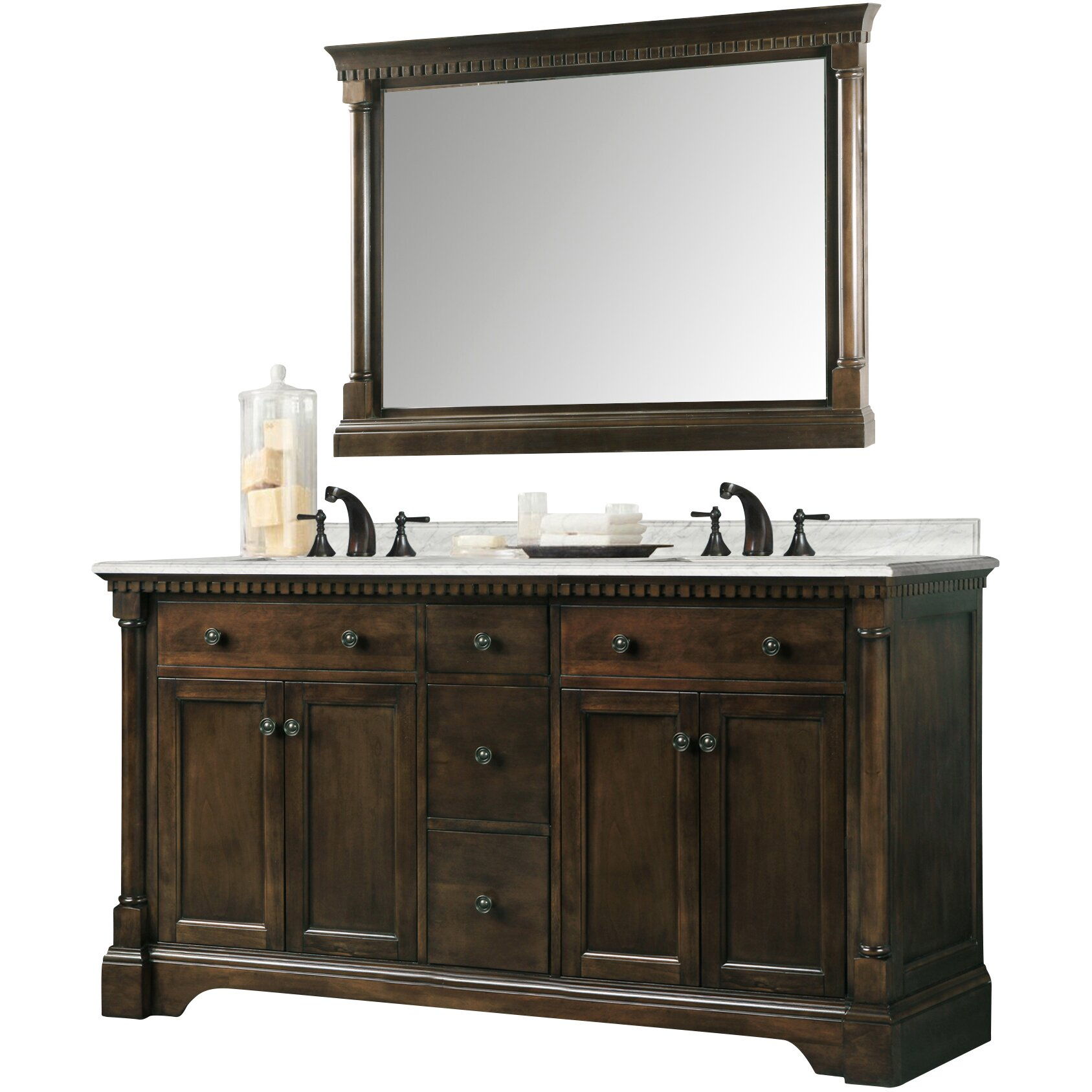 Legion furniture 60 double bathroom vanity reviews for Legion furniture 30 inch bathroom vanity