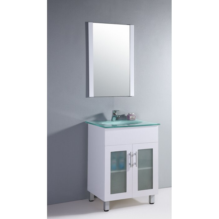 Legion furniture 24 single bathroom vanity set with - Wayfair furniture bathroom vanities ...