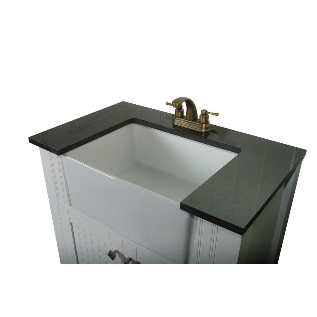 "Legion Furniture 30"" Single Bathroom Vanity Set & Reviews"