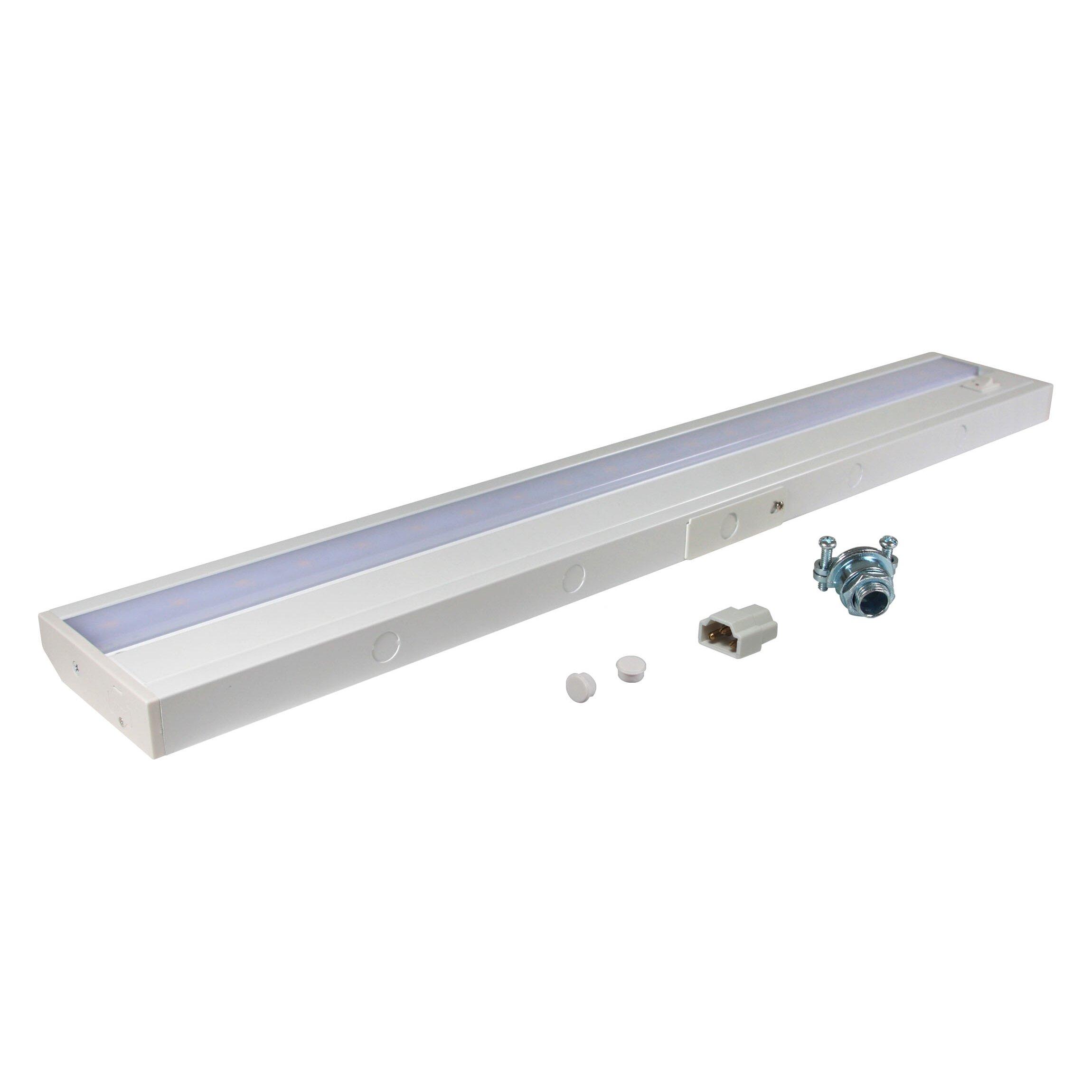 Led Ramp Under Koksskap : American Lighting LLC 2419 LED Under Cabinet Bar Light & Reviews