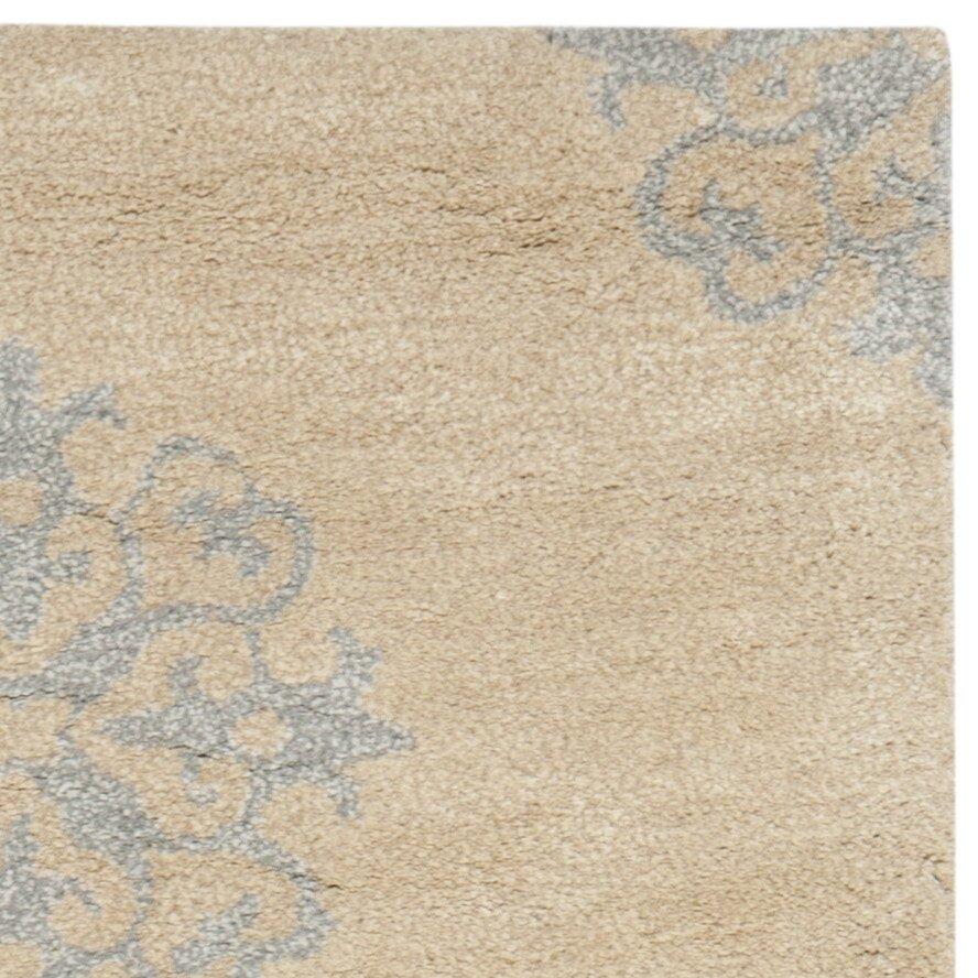 safavieh handgetufteter teppich marcus in gelb. Black Bedroom Furniture Sets. Home Design Ideas