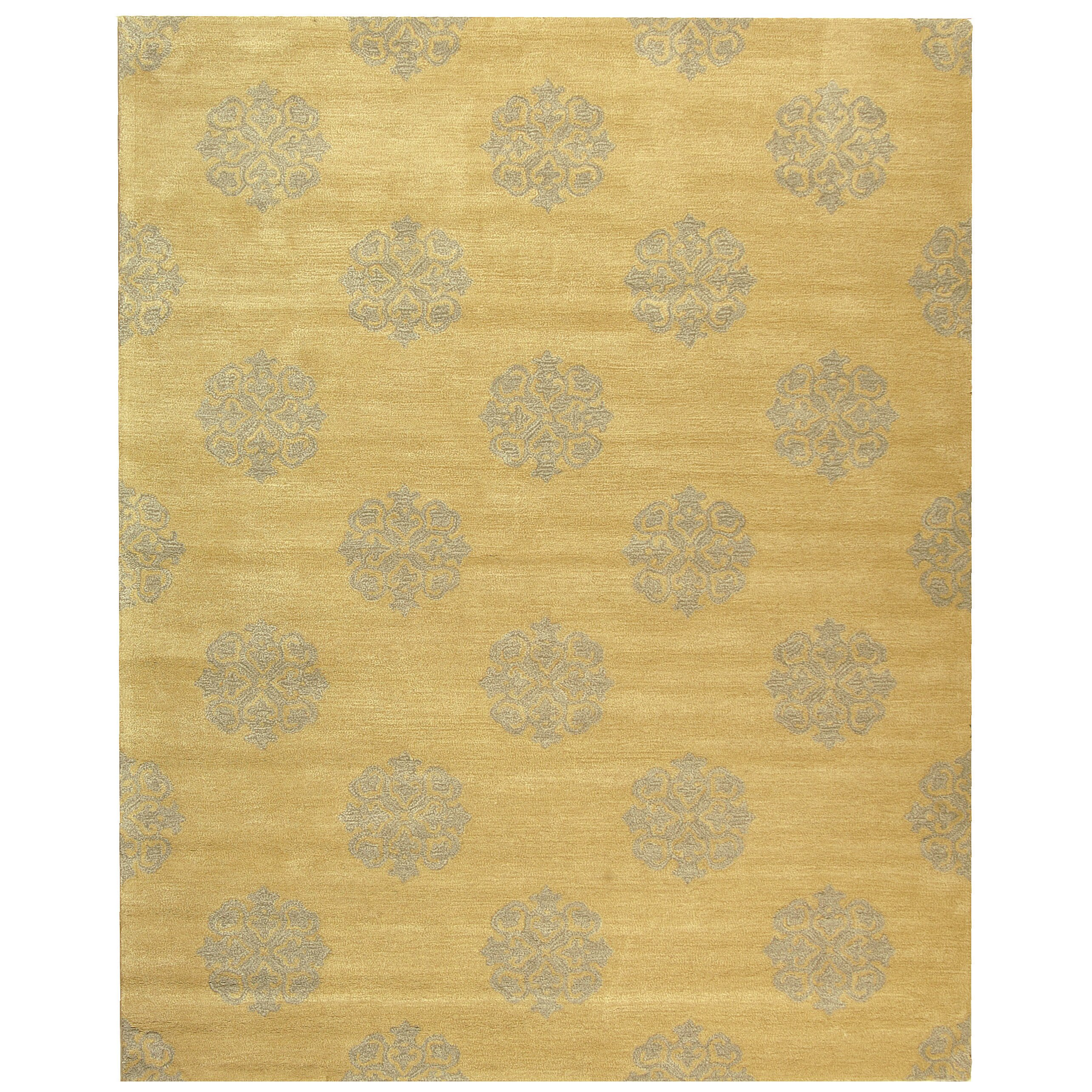 Safavieh Handgetufteter Teppich Marcus in Gelb