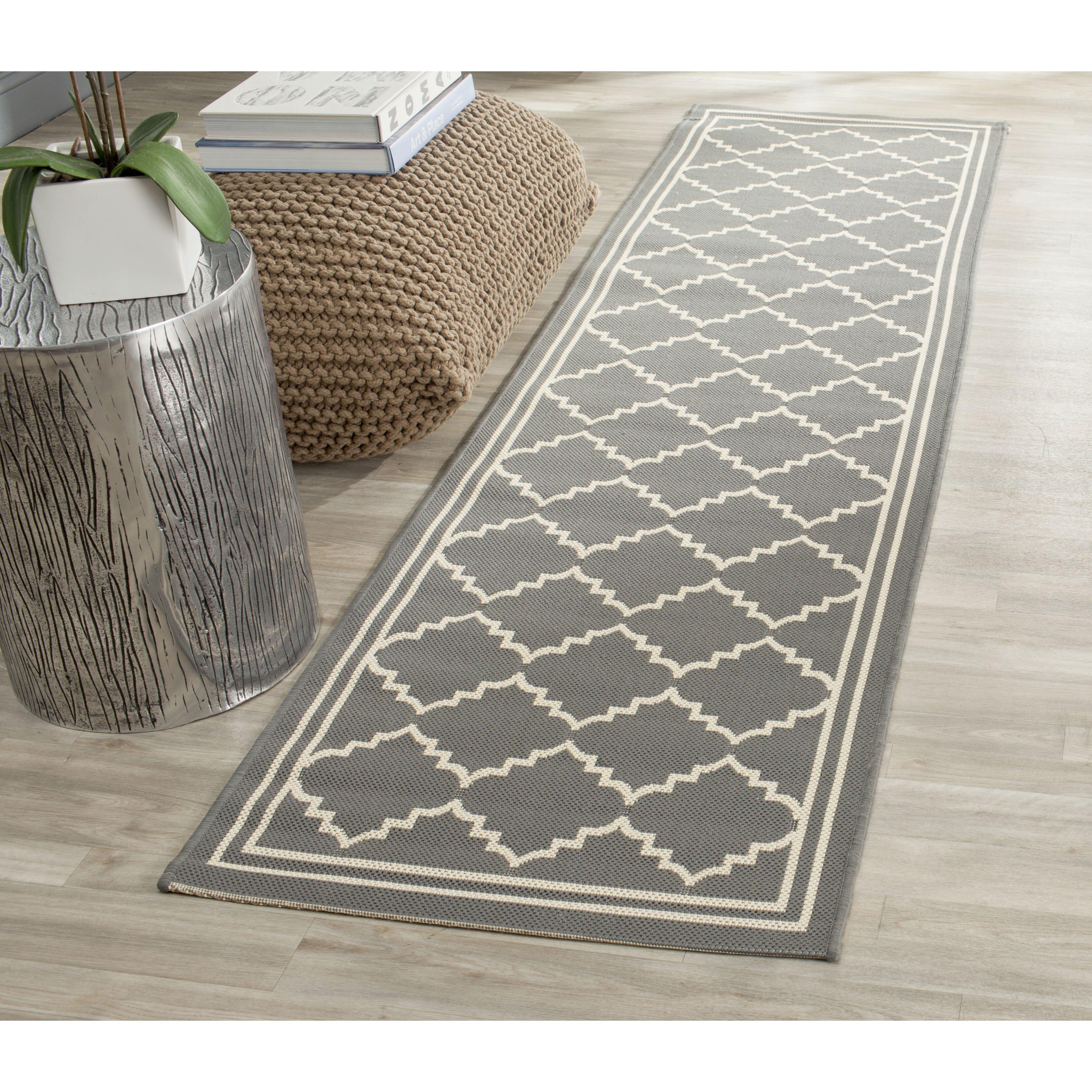 Safavieh gresham grey indoor outdoor area rug reviews for Indoor outdoor rugs uk