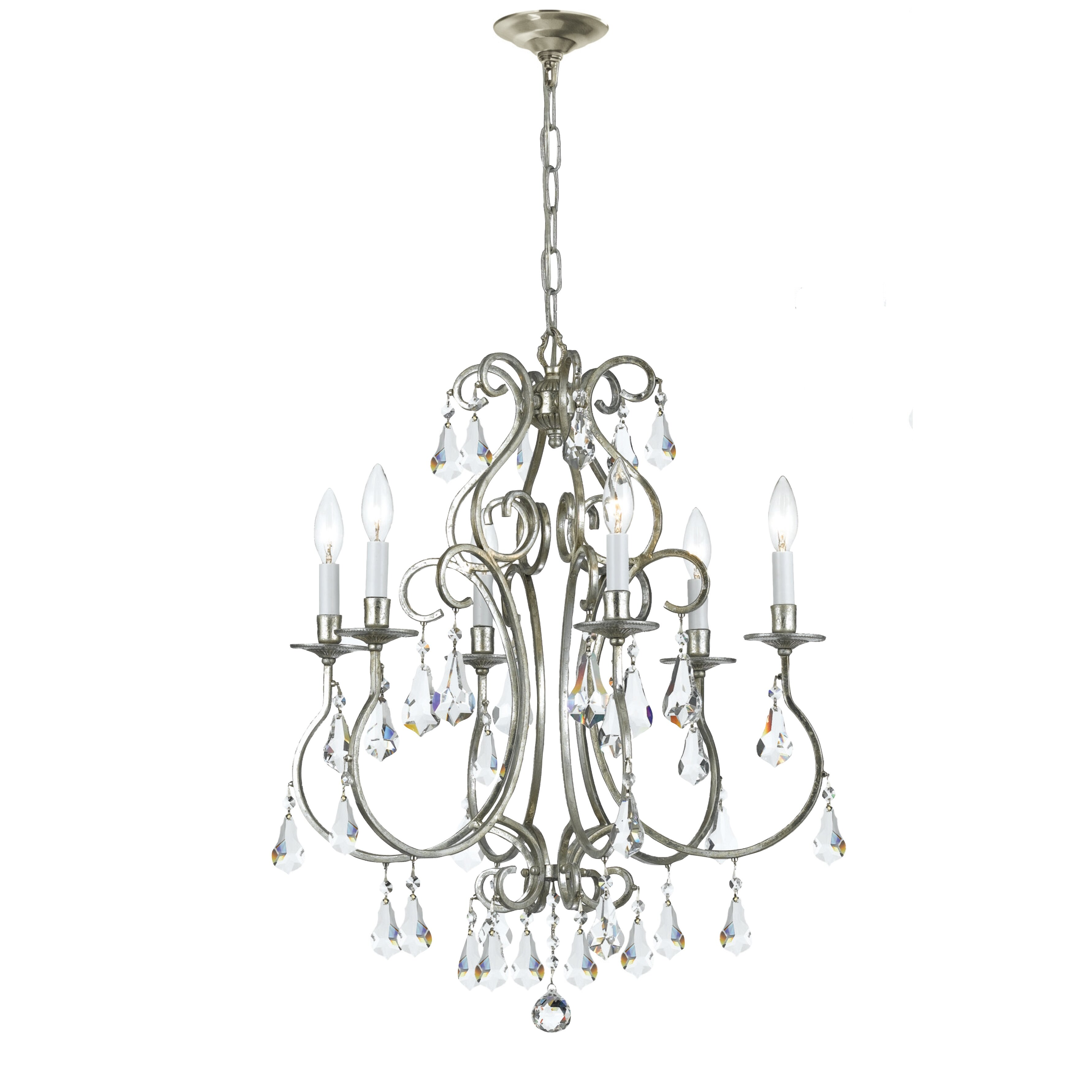 Crystorama Ashton 6 Light Mini Chandelier Amp Reviews Wayfair