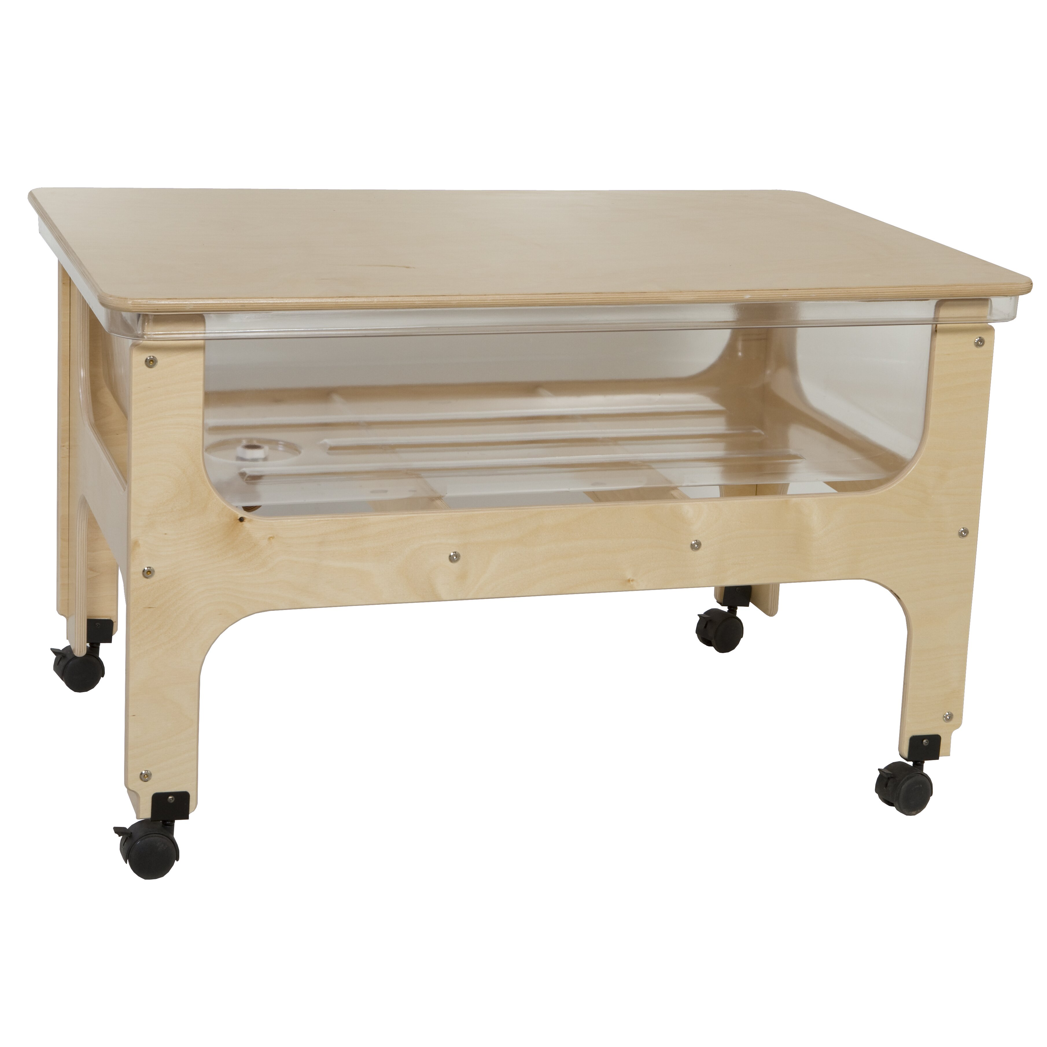 Wood Designs Deluxe Sand And Water Table Amp Reviews Wayfair
