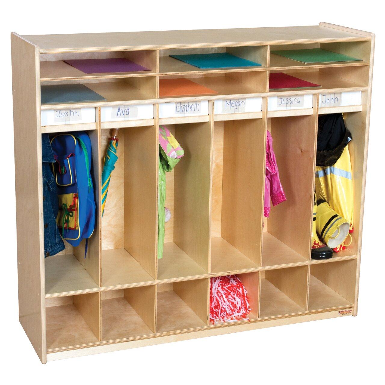 Kitchen Supplies Table With Storage Lockers
