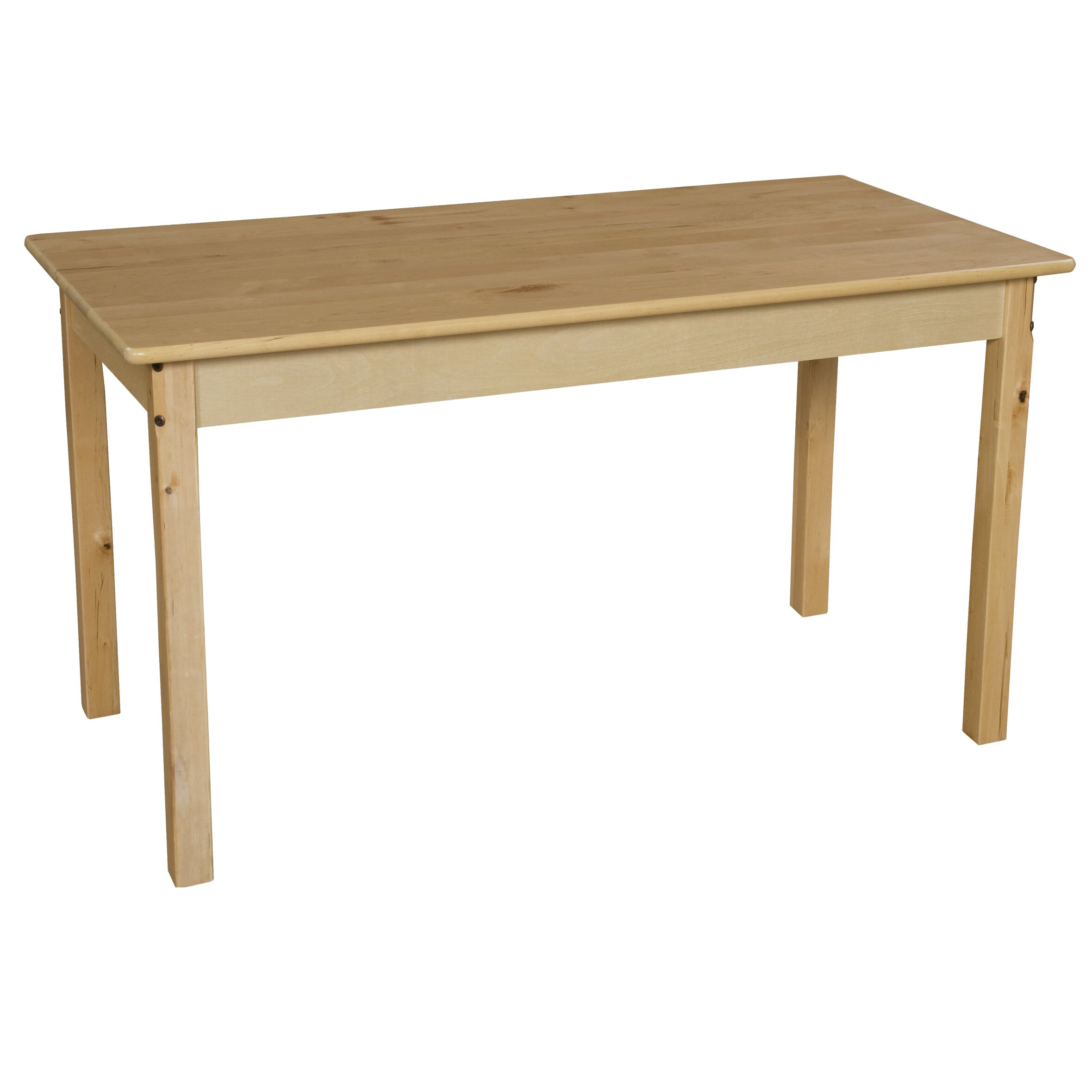 wood designs 48 x 24 rectangular activity table