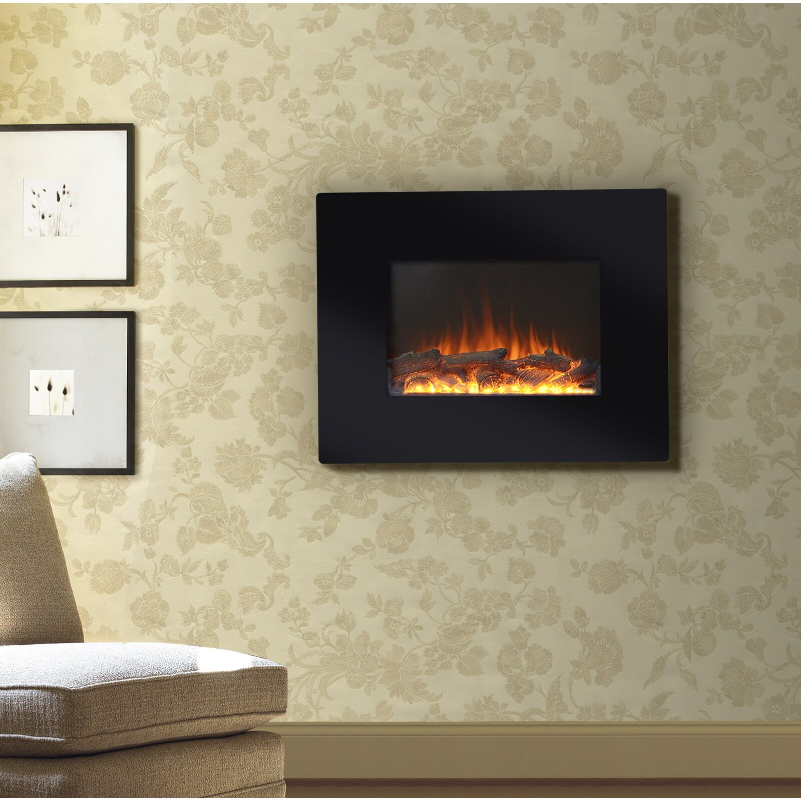 decor flame electric fireplace dact us