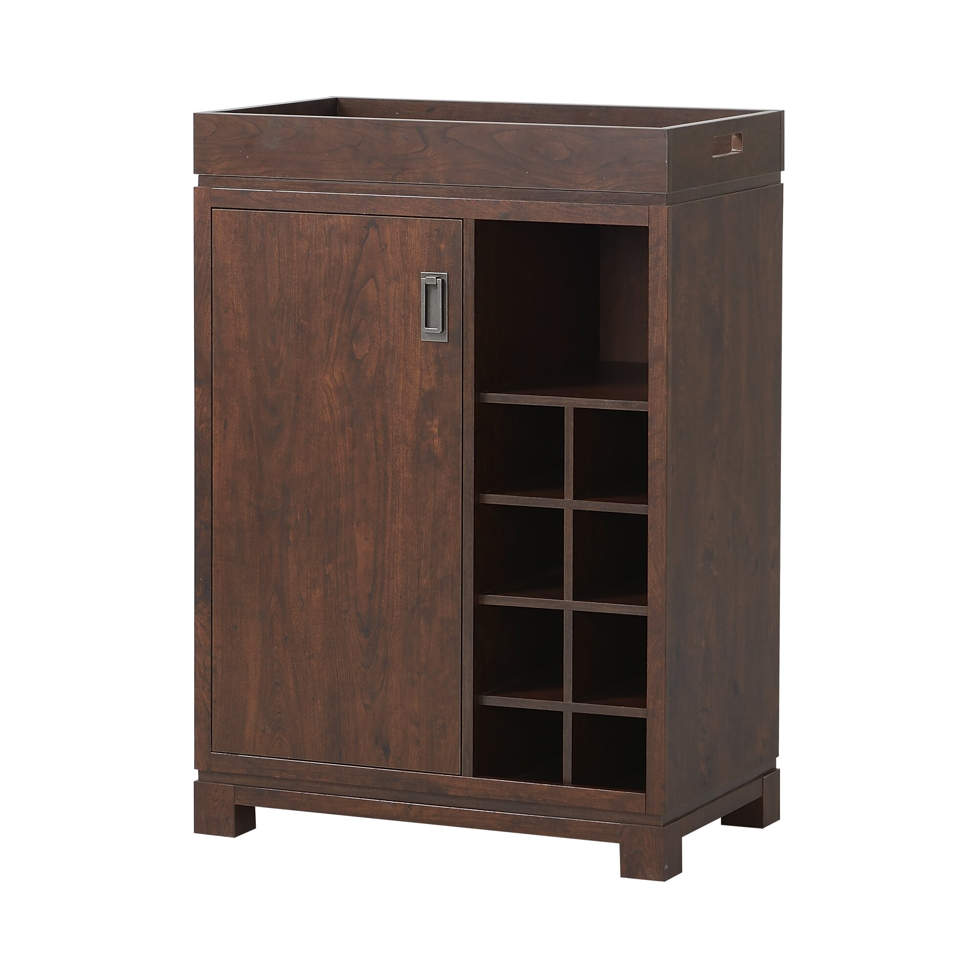 Homestar Bar Cabinet With Wine Storage & Reviews