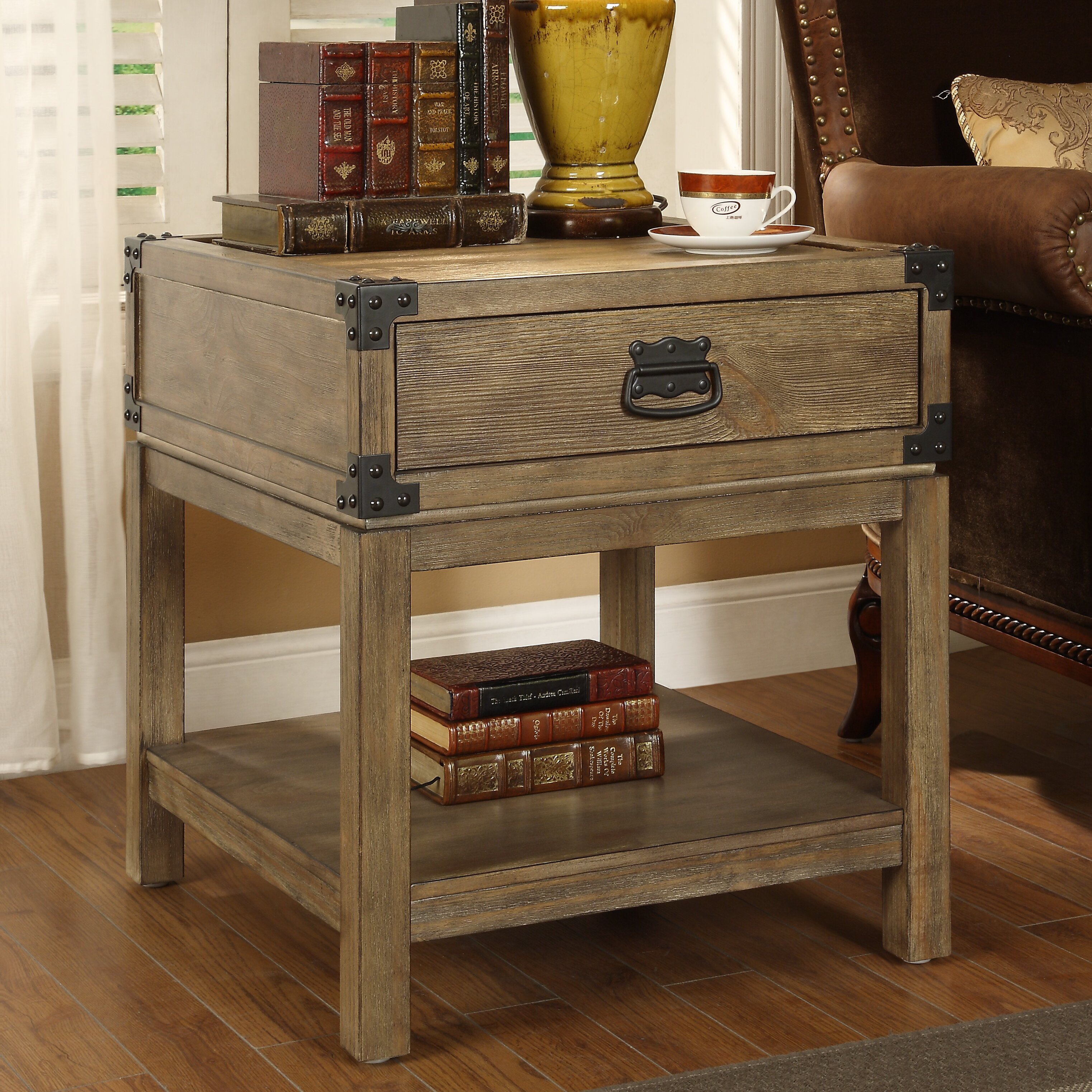 Coast To Coast Imports Trunk End Table Reviews Wayfair