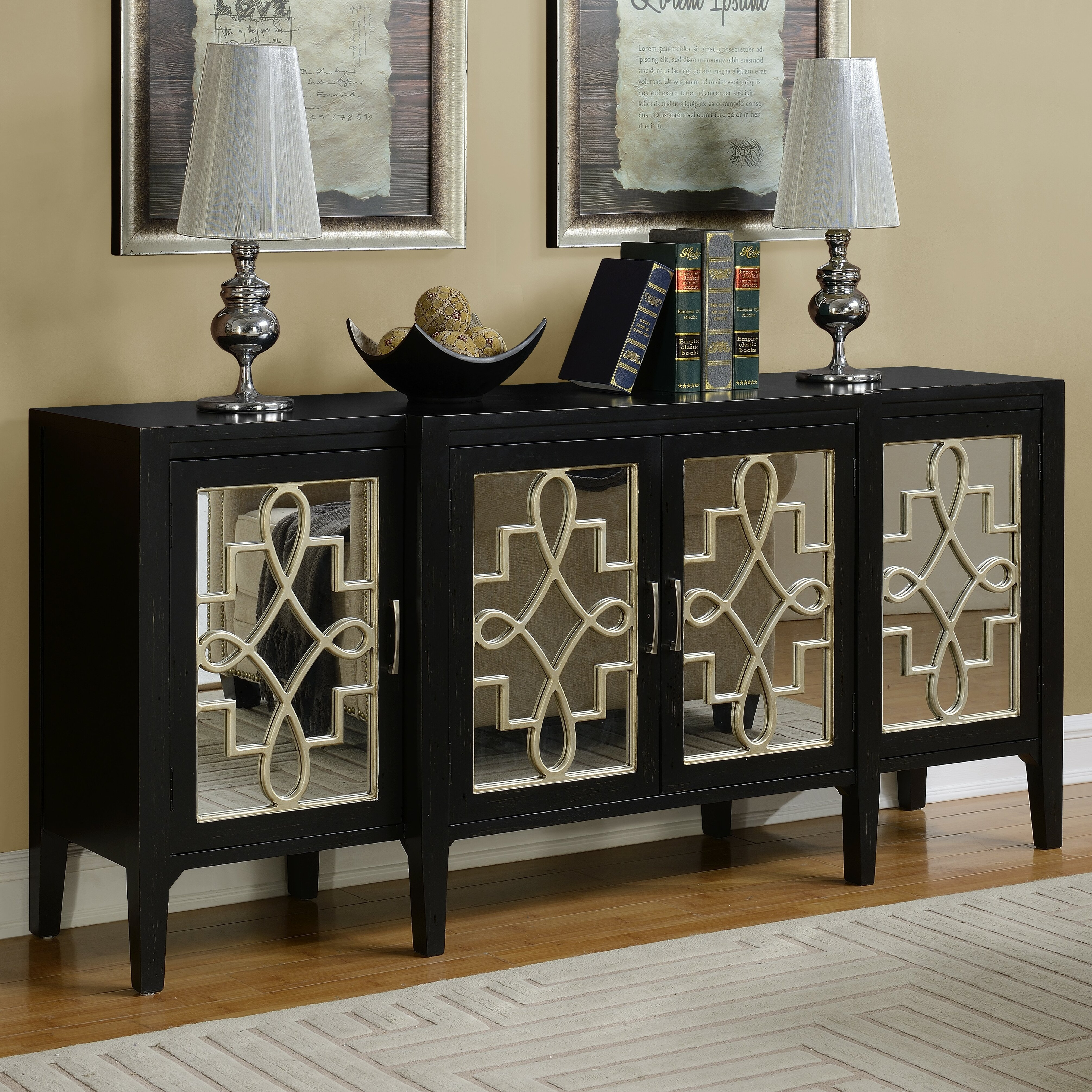 Coast To Imports Manry Credenza amp Reviews Wayfair