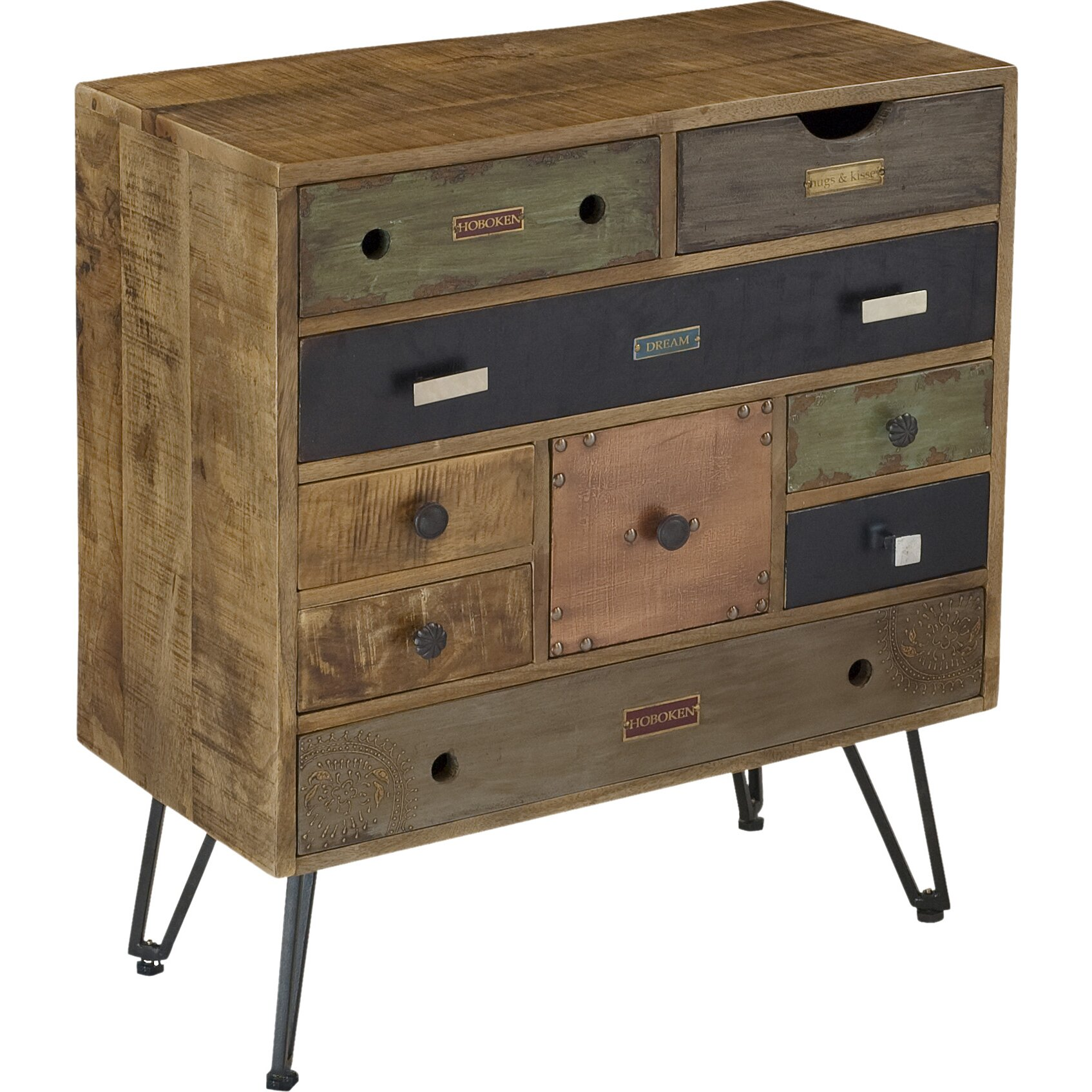 coast to coast imports 9 drawer chest reviews wayfair. Black Bedroom Furniture Sets. Home Design Ideas