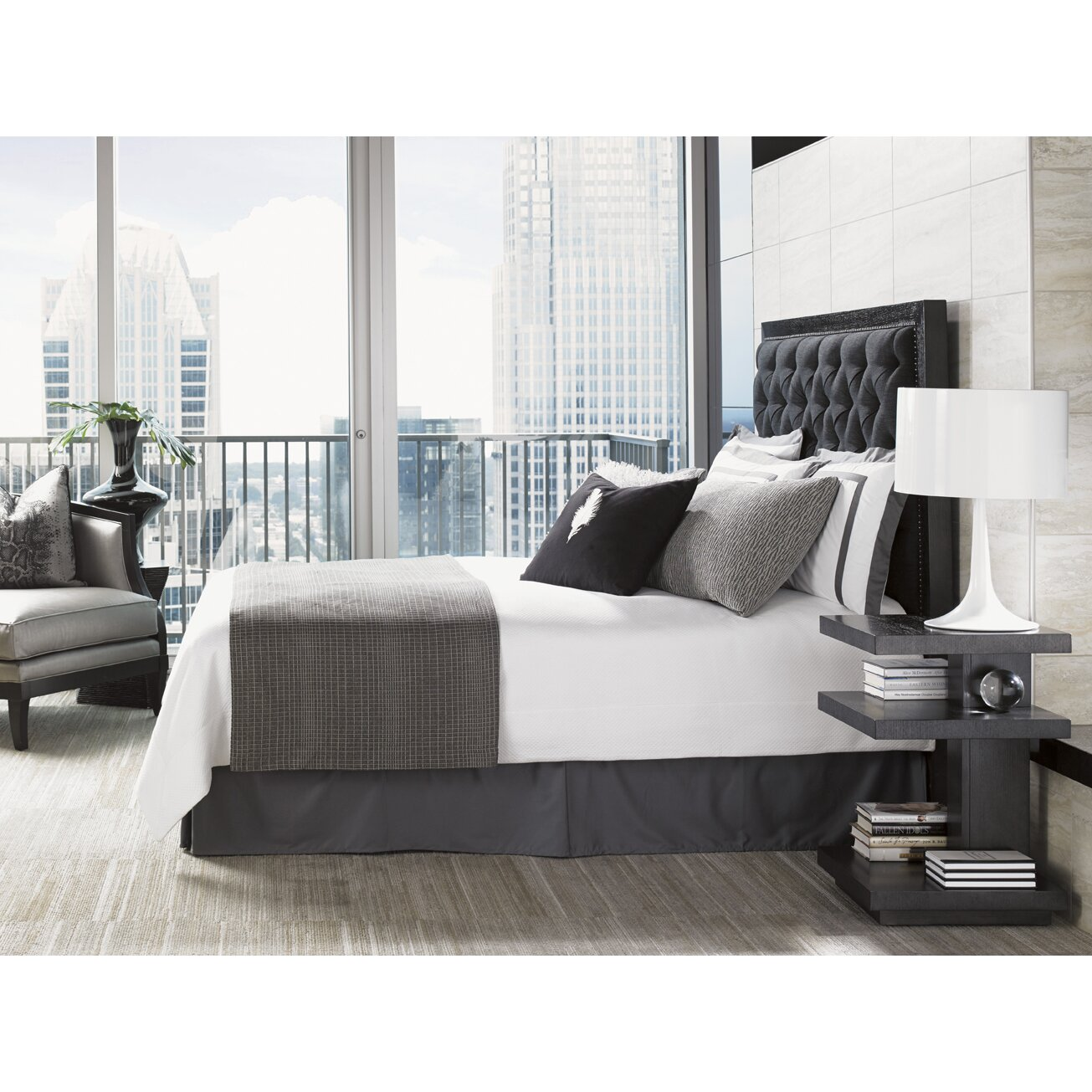 lexington carrera bedroom platform customizable bedroom