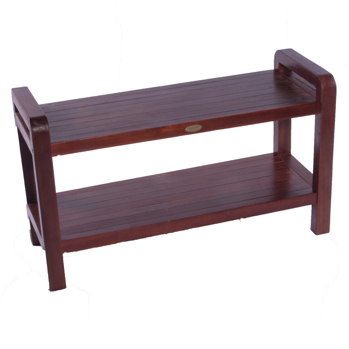 Decoteak Liftaide Teak Ergonomic Spa Shower Bench Reviews Wayfair