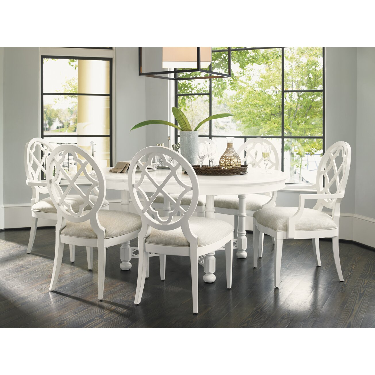 Tommy Bahama Dining Room Furniture: Tommy Bahama Home Ivory Key Dining Table