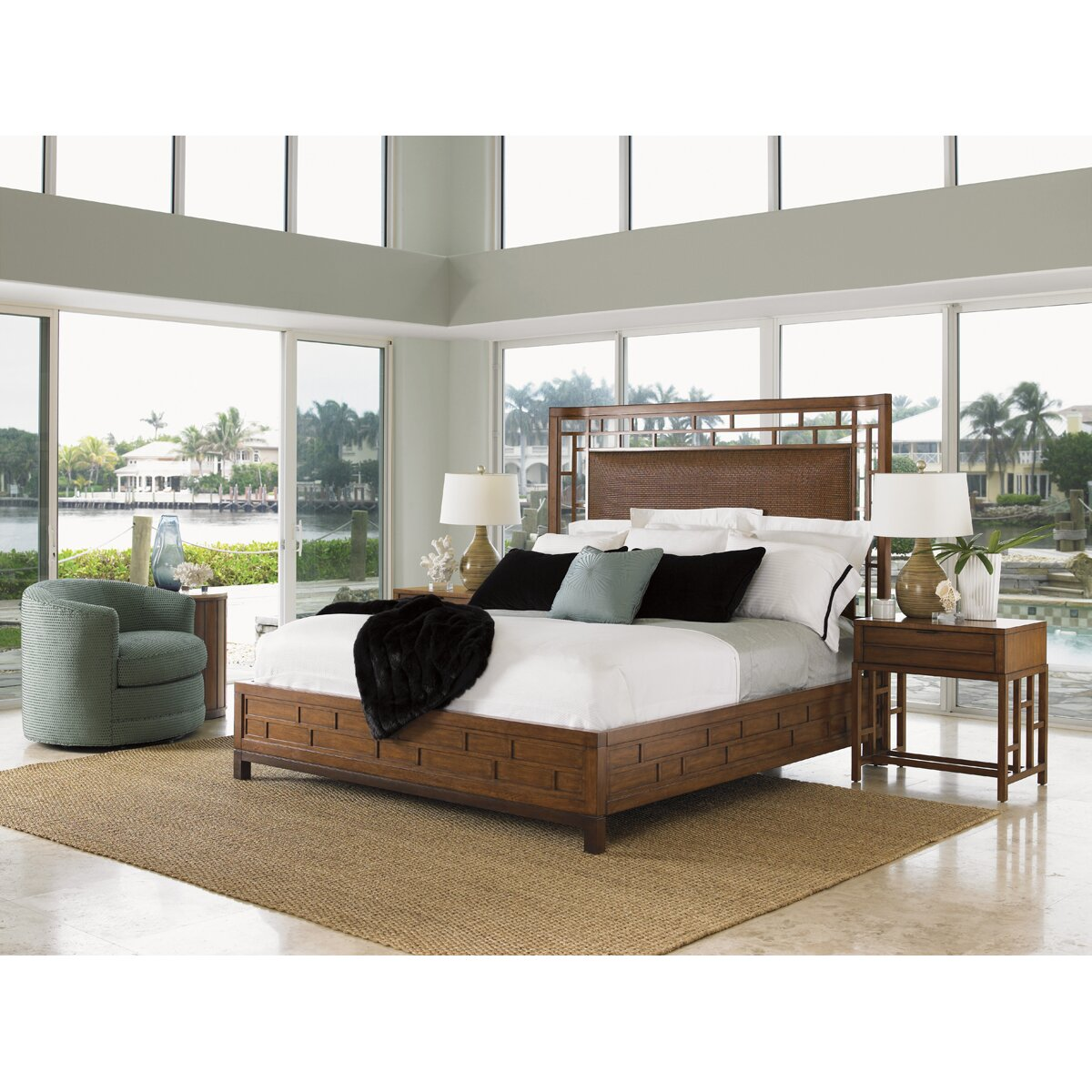 Tommy Bahama Furniture: Tommy Bahama Home Ocean Club Platform Bed & Reviews