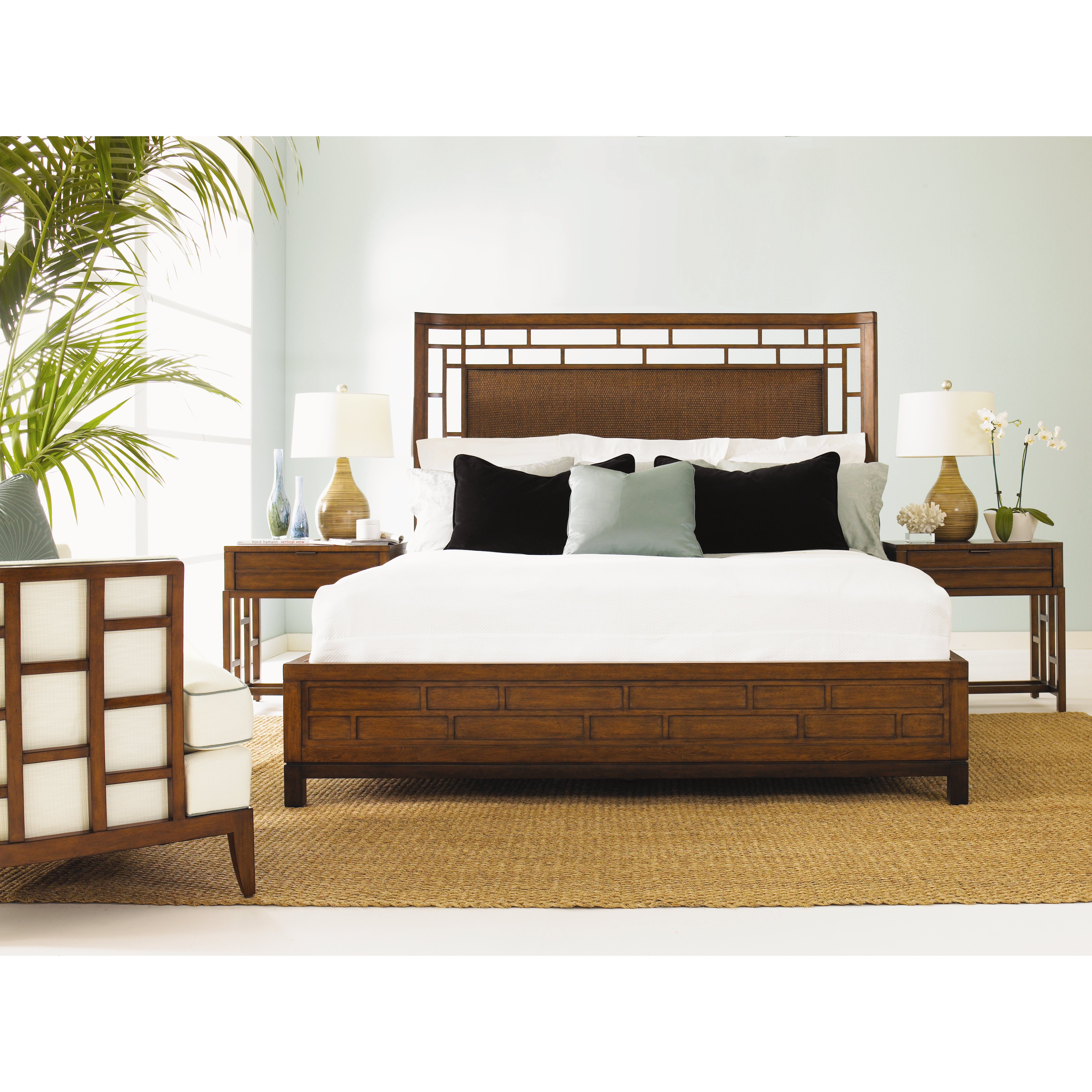 Tommy bahama home ocean club platform bed reviews wayfair Home furniture and mattress