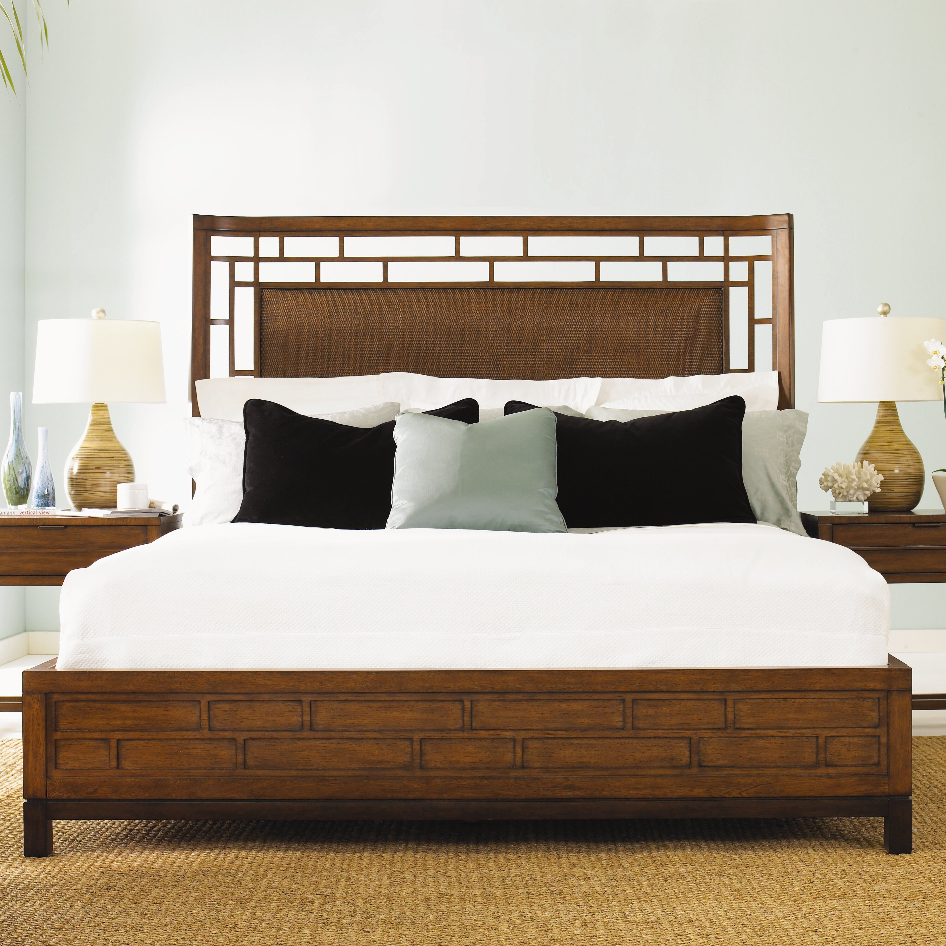 Tommy bahama home ocean club panel customizable bedroom Tommy bahama bedroom furniture sets