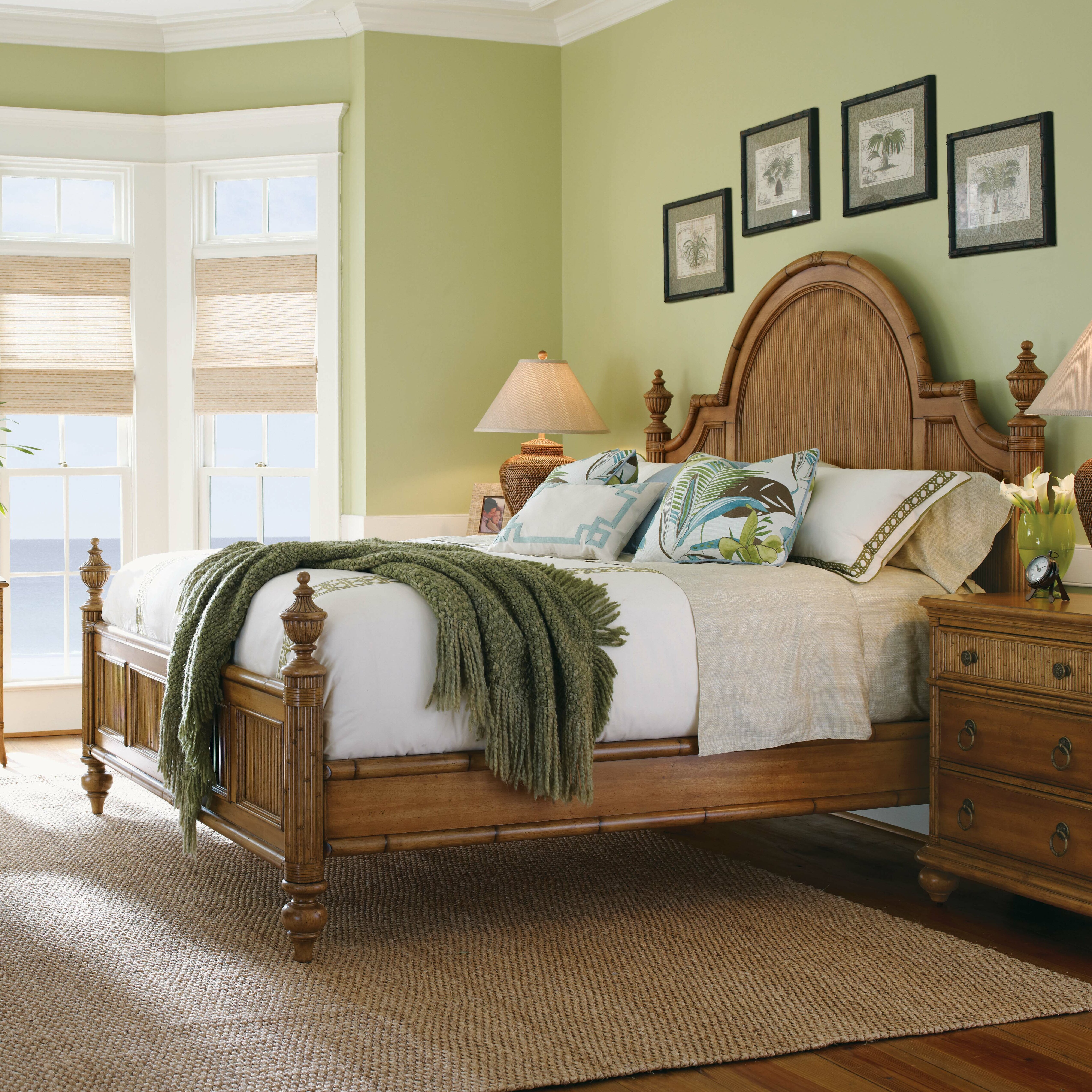 Beach Bedroom Set: Tommy Bahama Home Beach House Panel Customizable Bedroom