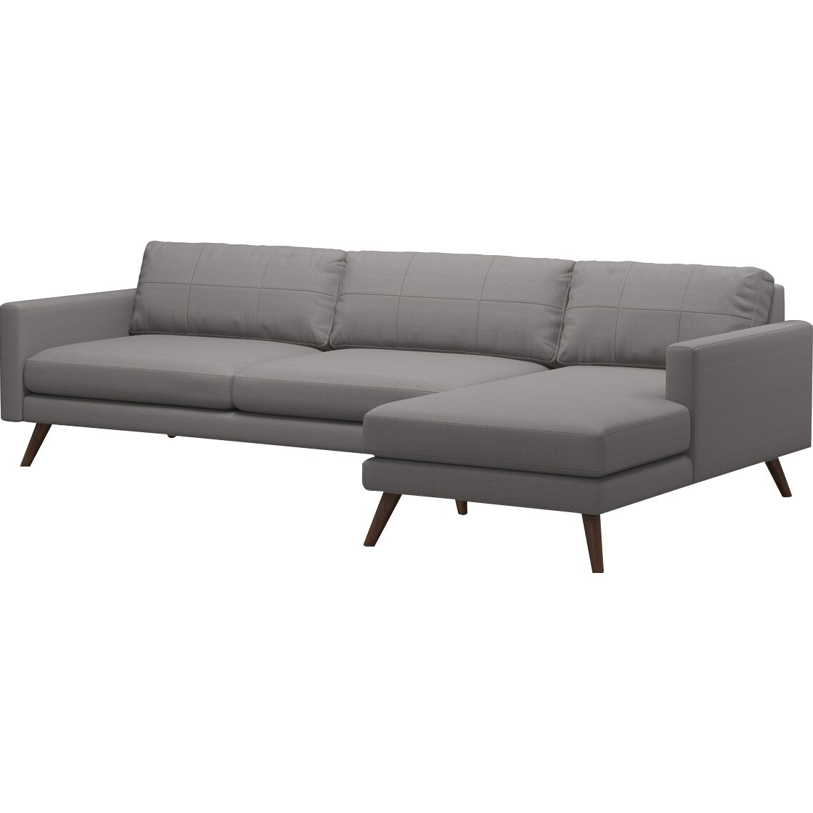 Truemodern Dane 116 Sofa With Chaise Wayfair