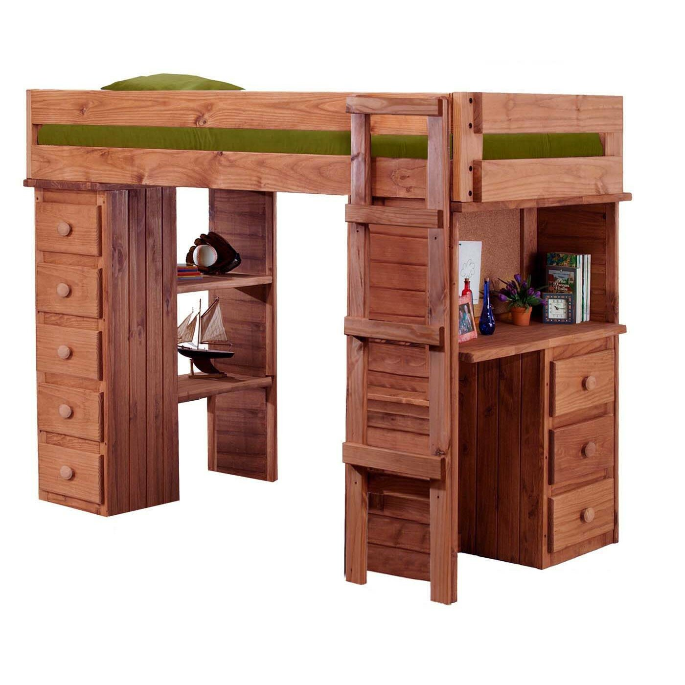 Chelsea Home Twin Loft Bed Reviews Wayfair