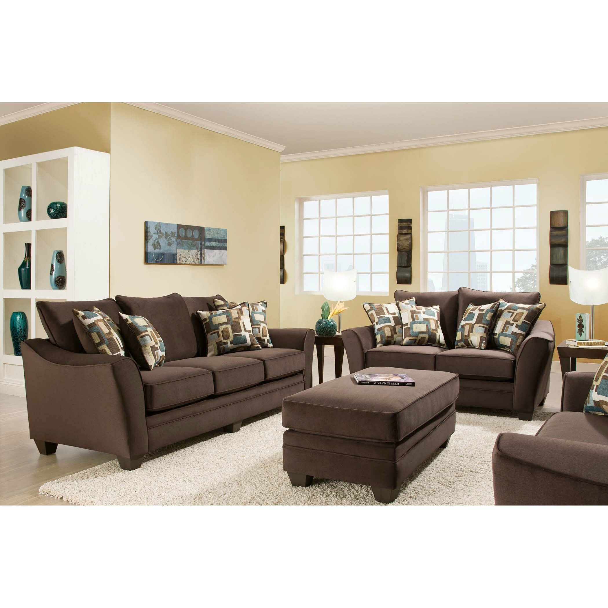 Chelsea Home Cupertino Living Room Collection Reviews Wayfair