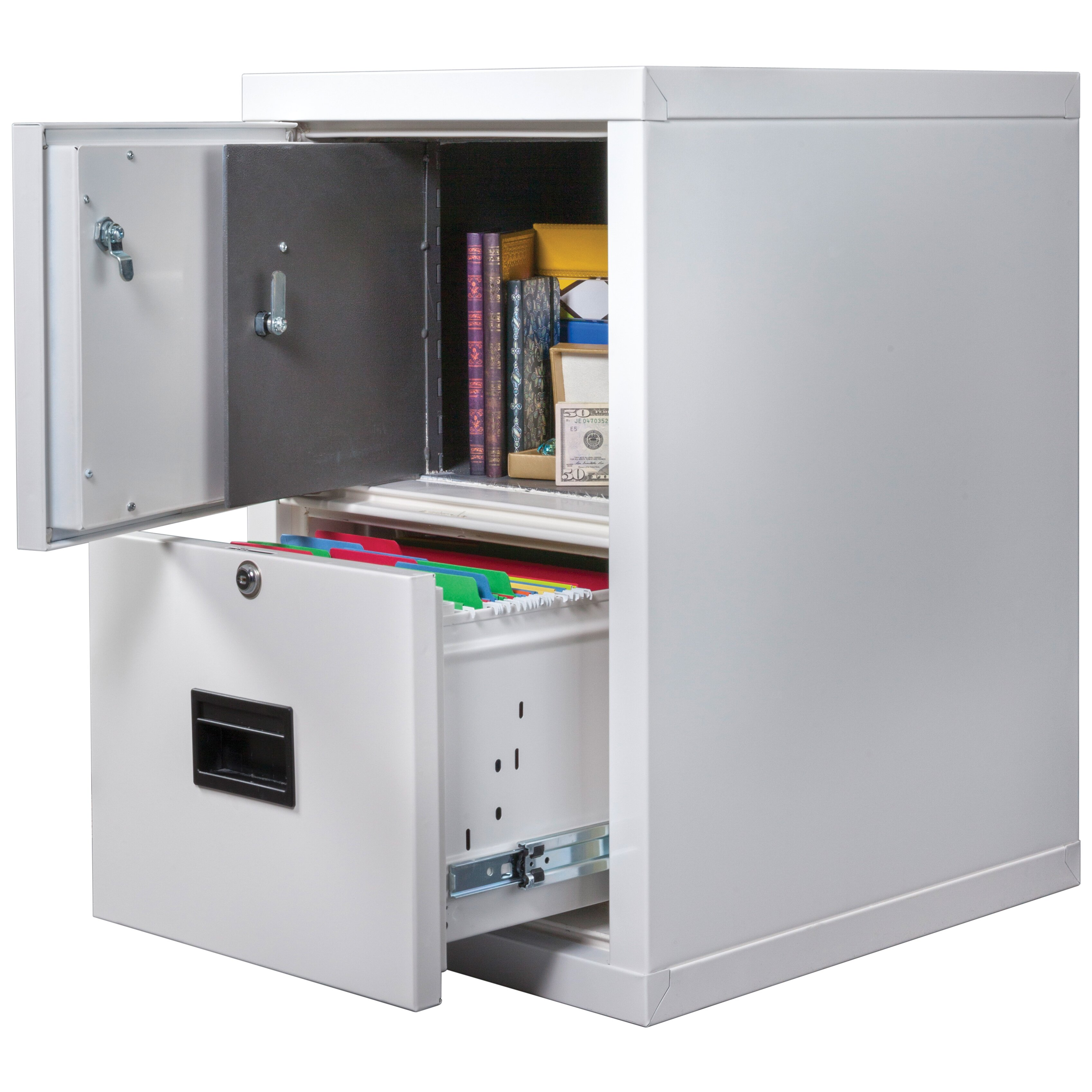 fireking turtle safe in a file fireproof vertical file cabinet safe with key lock wayfair. Black Bedroom Furniture Sets. Home Design Ideas