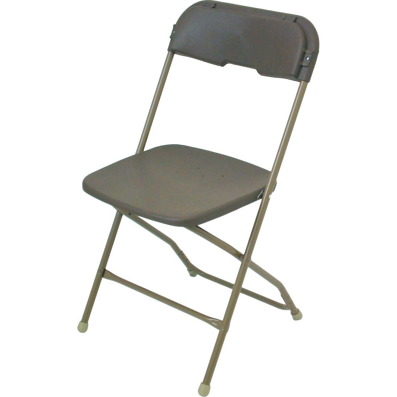 McCourt Manufacturing Series 5 Plastic Folding Chair & Reviews