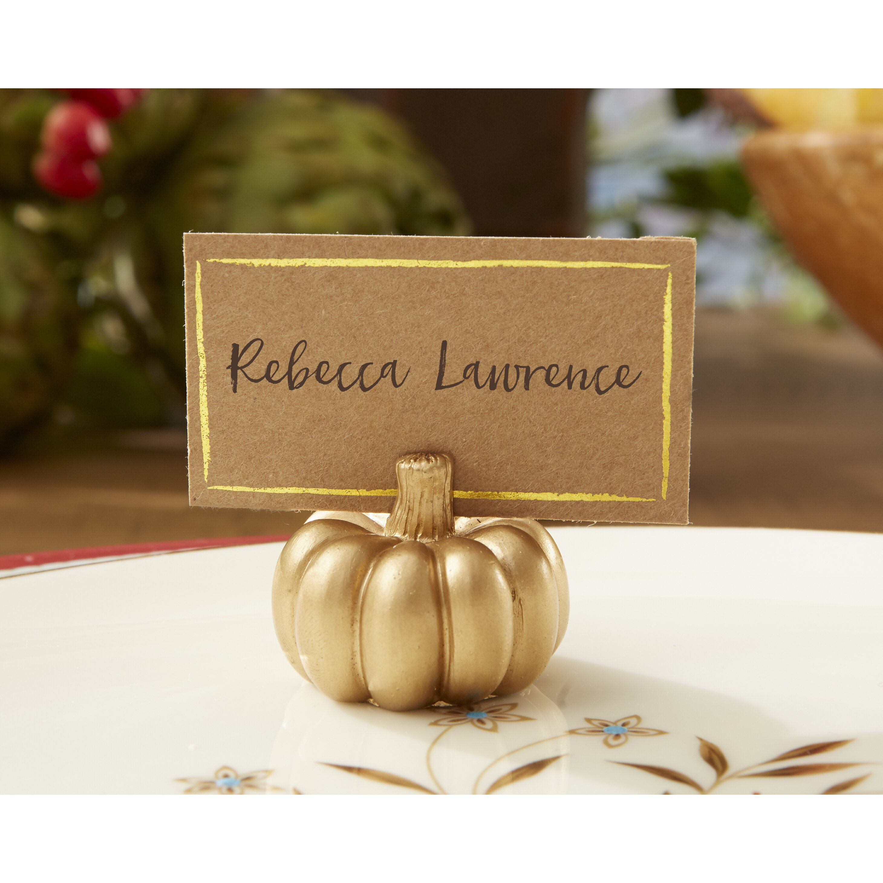 Kate Aspen Place Card Holder & Reviews