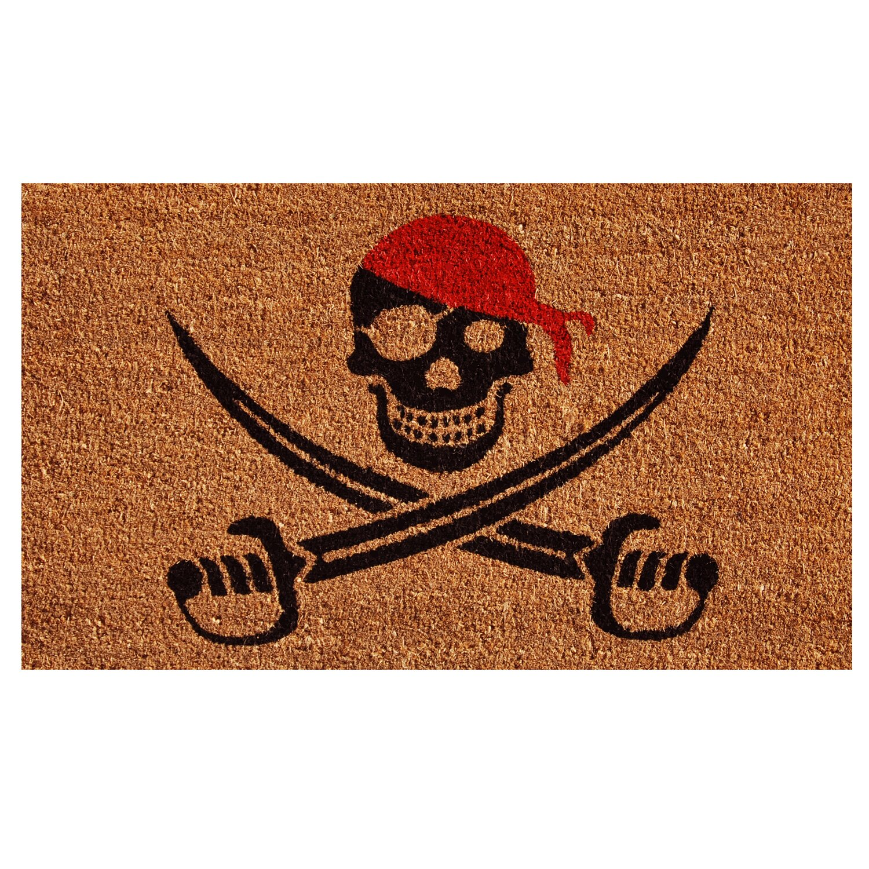 Pirate Rug Next: Home & More Pirate Doormat & Reviews