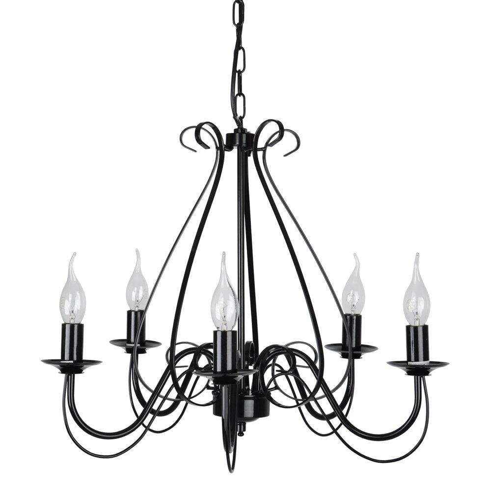 minisun 5 light chandelier reviews wayfair uk