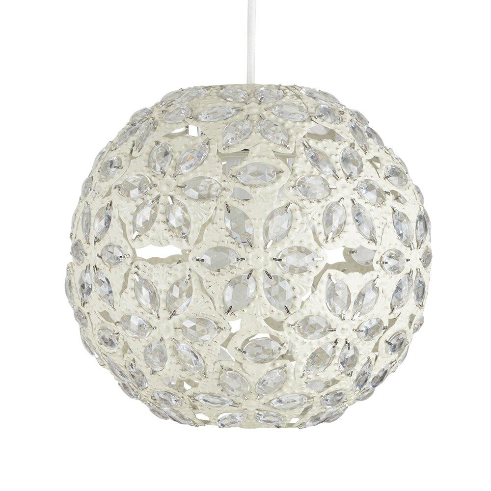 minisun 25cm metal sphere pendant shade reviews wayfair uk. Black Bedroom Furniture Sets. Home Design Ideas