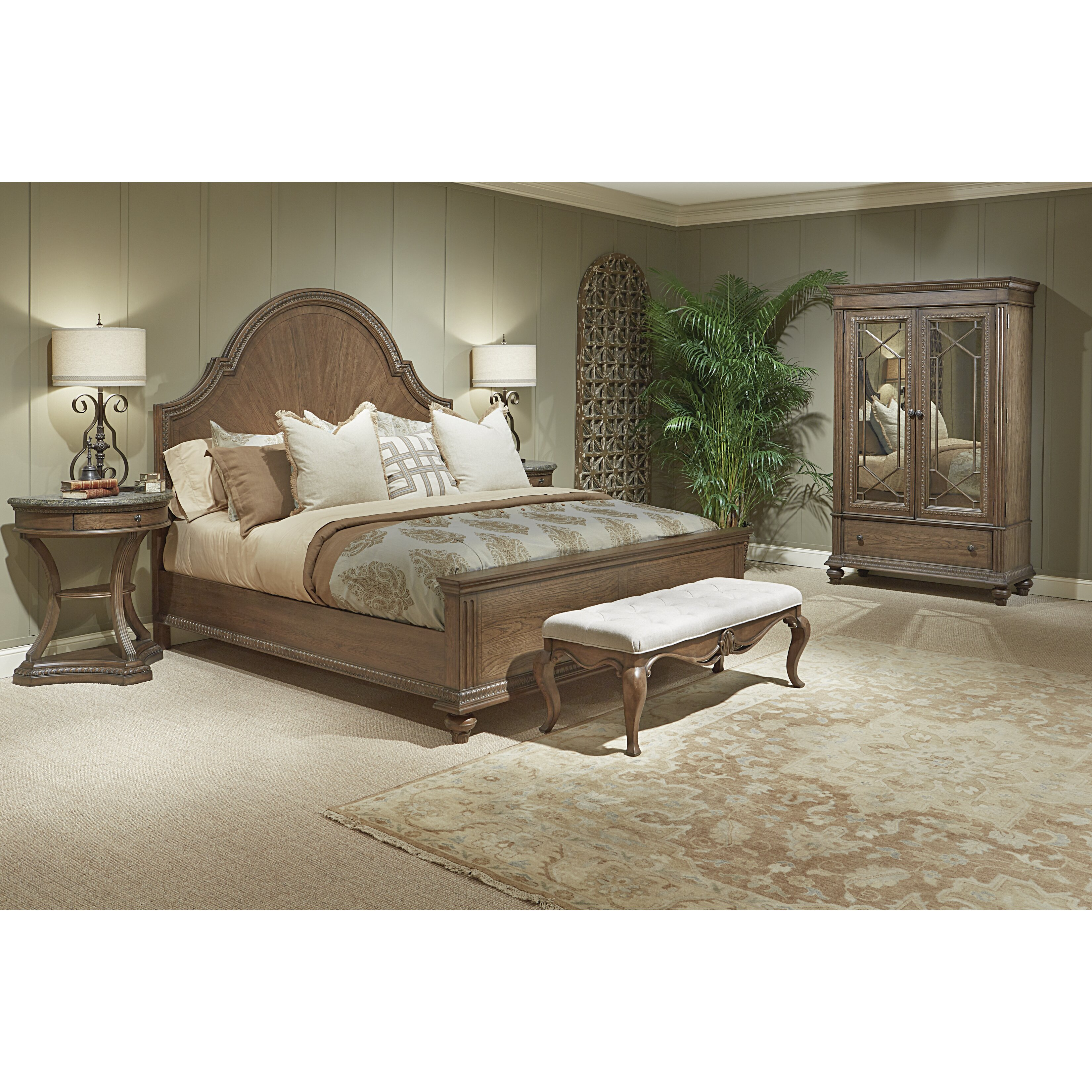 Legacy Classic Furniture Renaissance Arched Panel