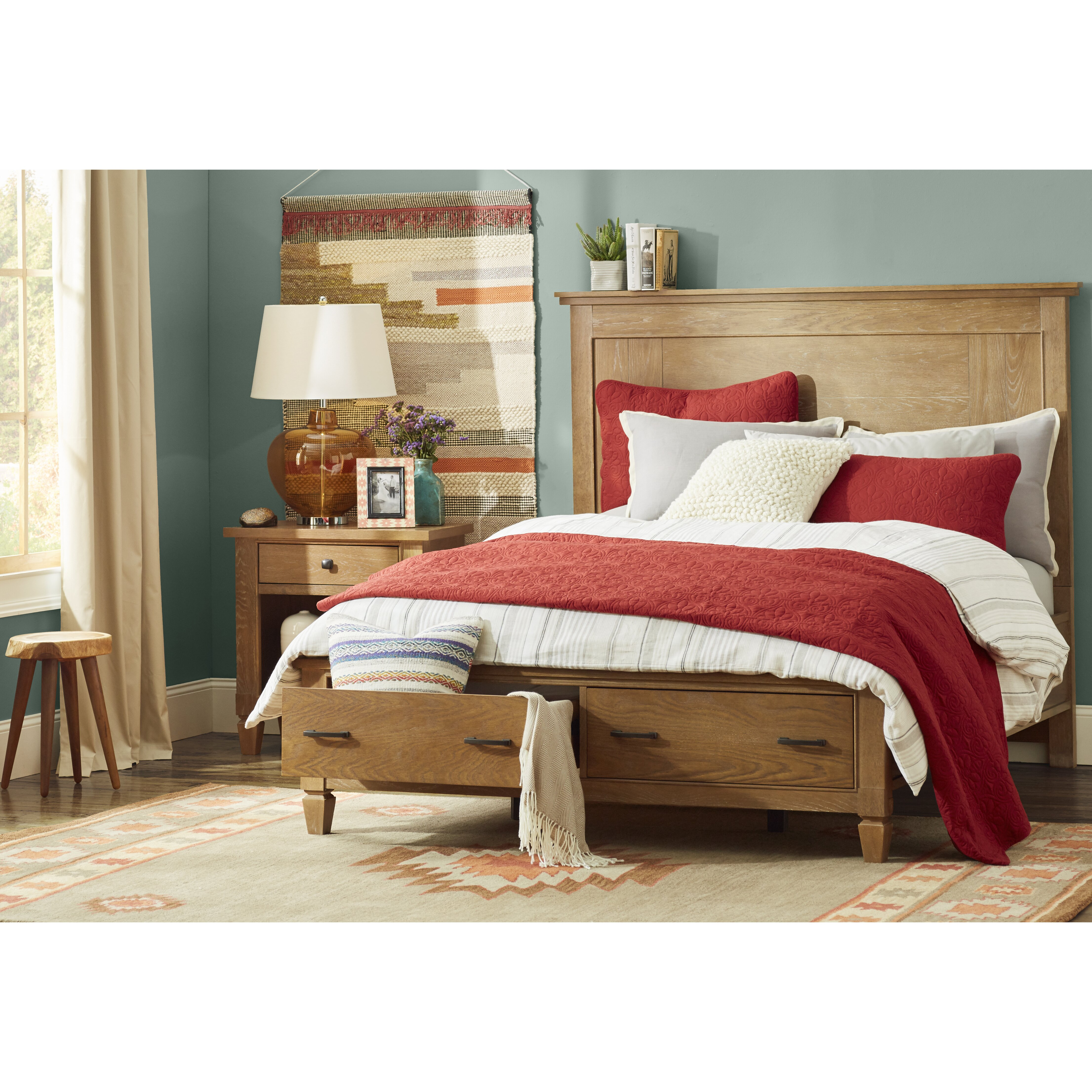 Legacy Classic Furniture Brownstone Village Platform Bed