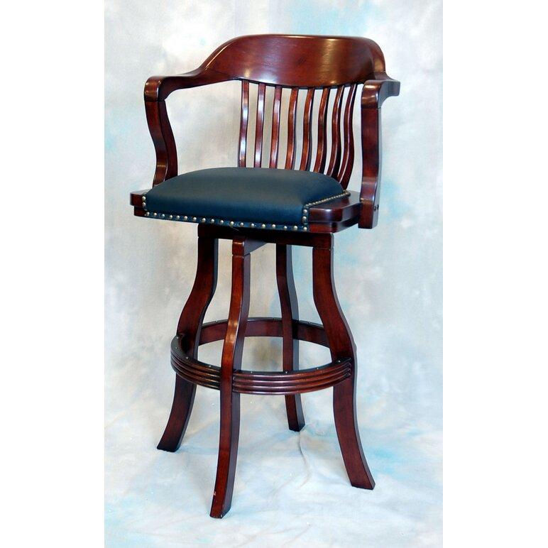 ECI Furniture Burnished Oak Adjustable Height Swivel Bar  : Burnished2BOak2B3025222BBar2BStool2Bwith2BCushion from www.wayfair.ca size 772 x 772 jpeg 106kB