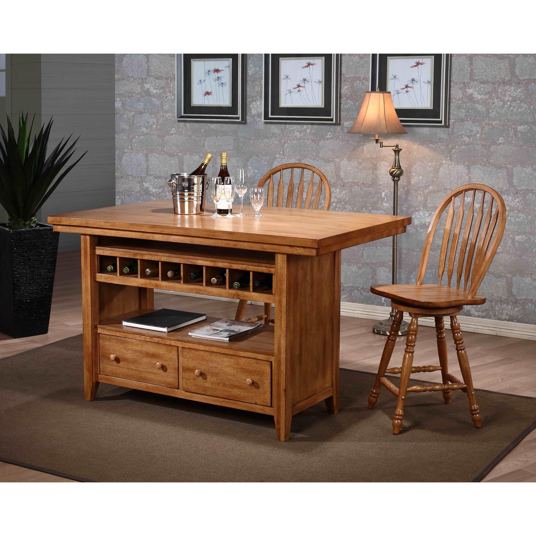 ECI Furniture Four Seasons Kitchen Island & Reviews