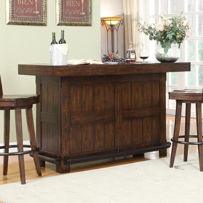 ECI Furniture Complete Gettysburg Bar Table Set & Reviews