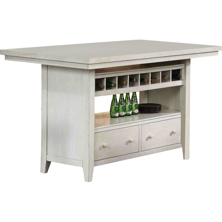 Eci Furniture Four Seasons Kitchen Island Amp Reviews Wayfair
