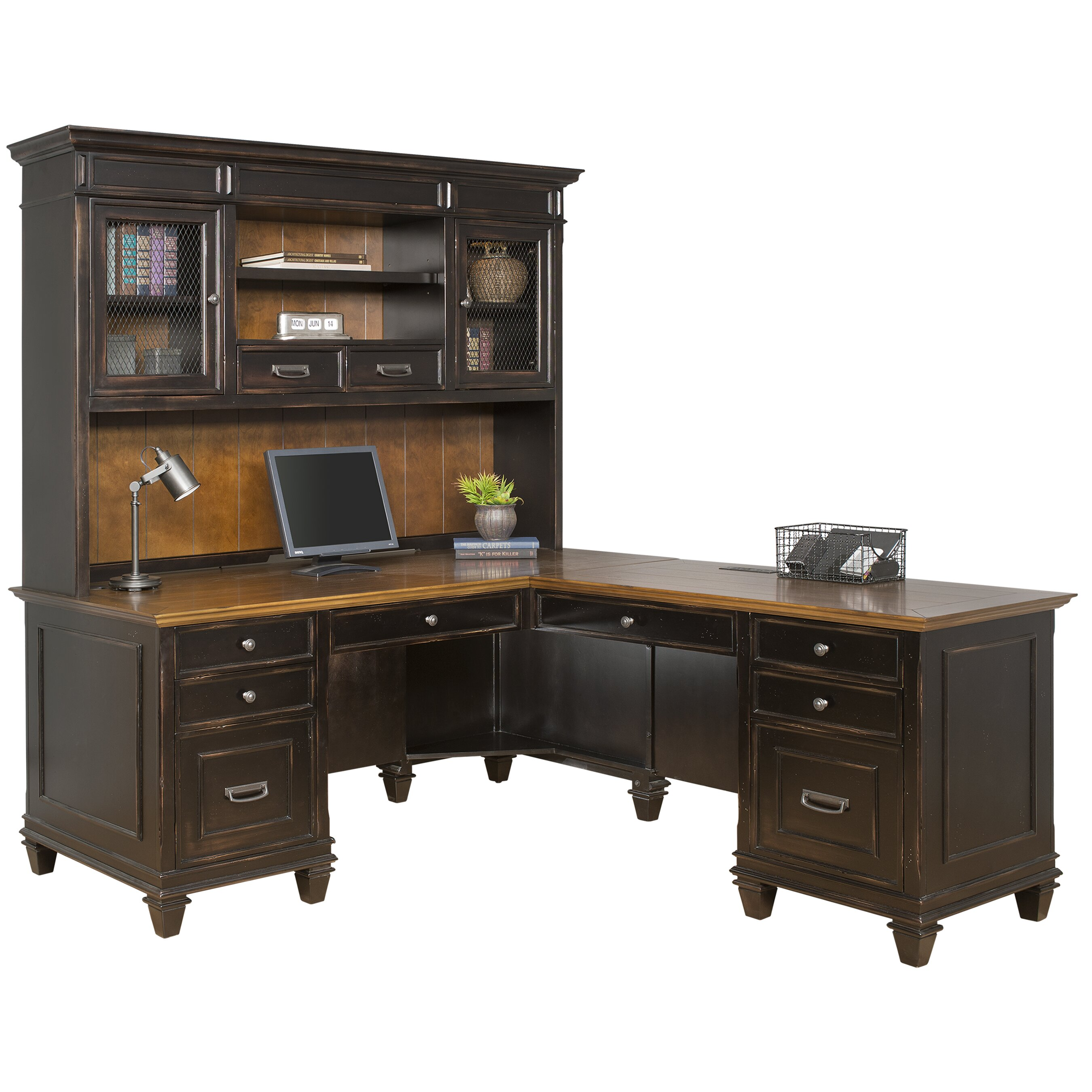 3 Piece Office Furniture ~ Kathy ireland home by martin furniture hartford piece l