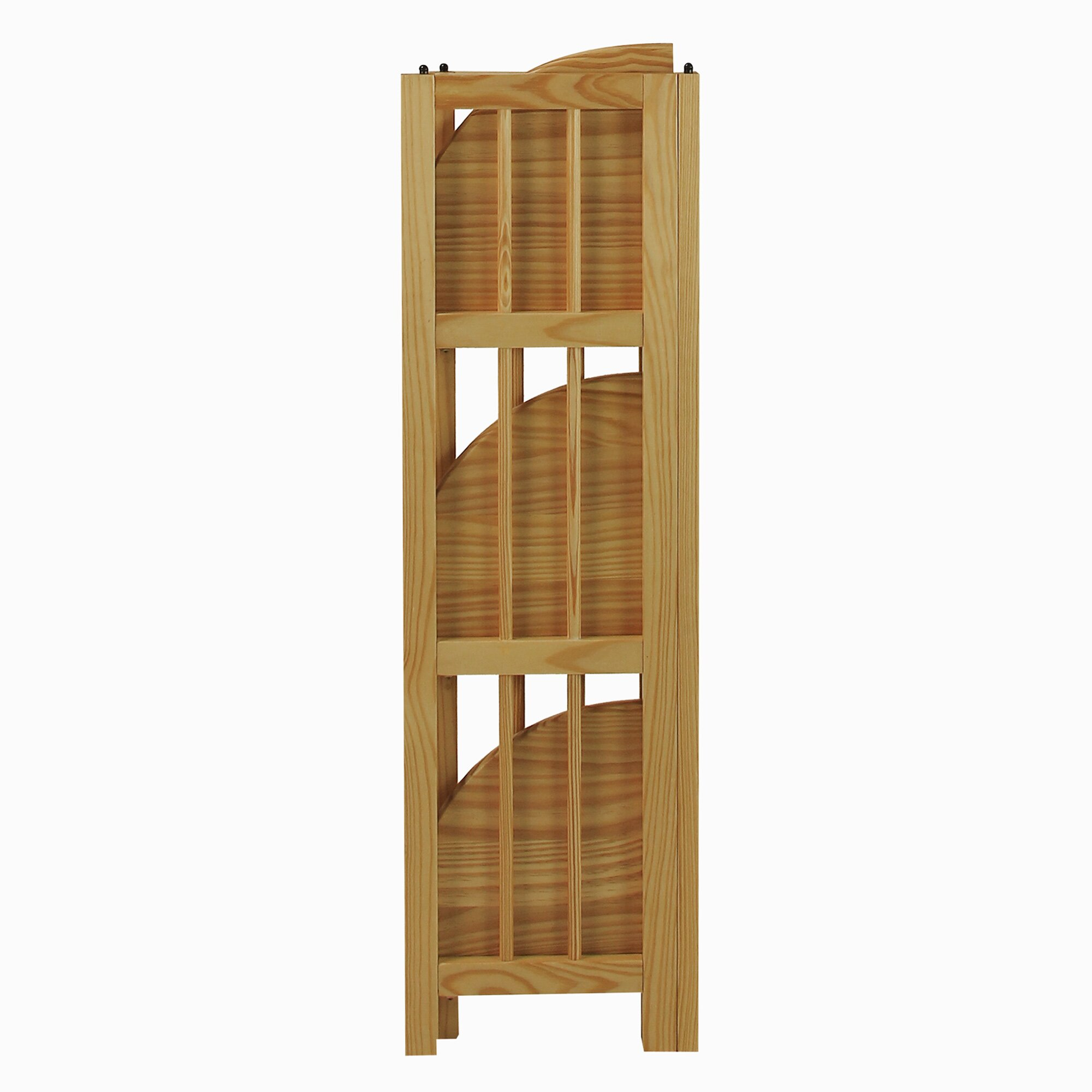 #402614 Casual Home 38 Corner Unit Bookcase & Reviews Wayfair with 2000x2000 px of Brand New Bookcase Corner Unit 20002000 pic @ avoidforclosure.info