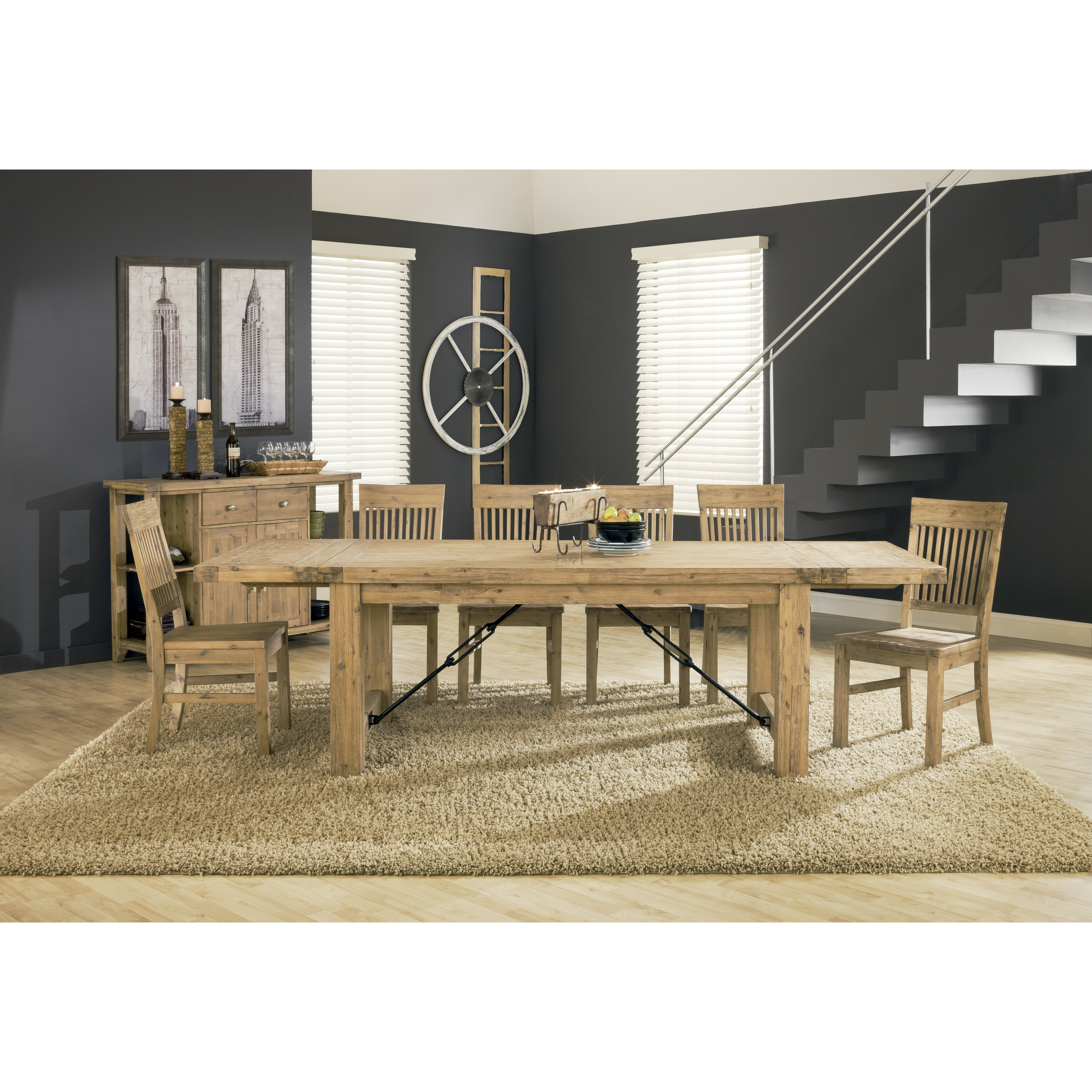Standard Furniture Cambria Rectangular White Wood And: Modus Autumn Extendable Dining Table & Reviews