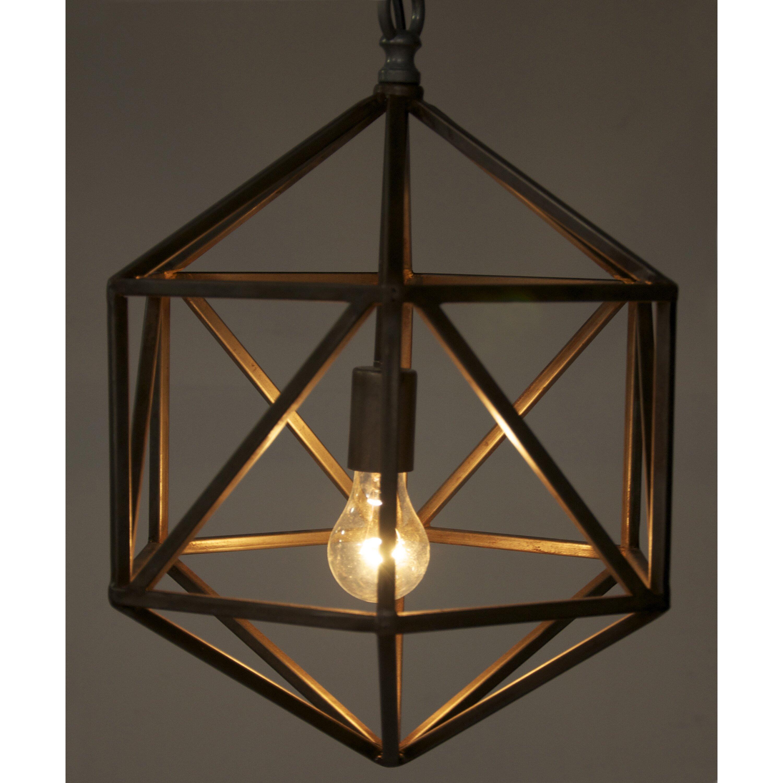 Pendant Lighting Entry Foyer : Noir diamond c light foyer pendant reviews wayfair