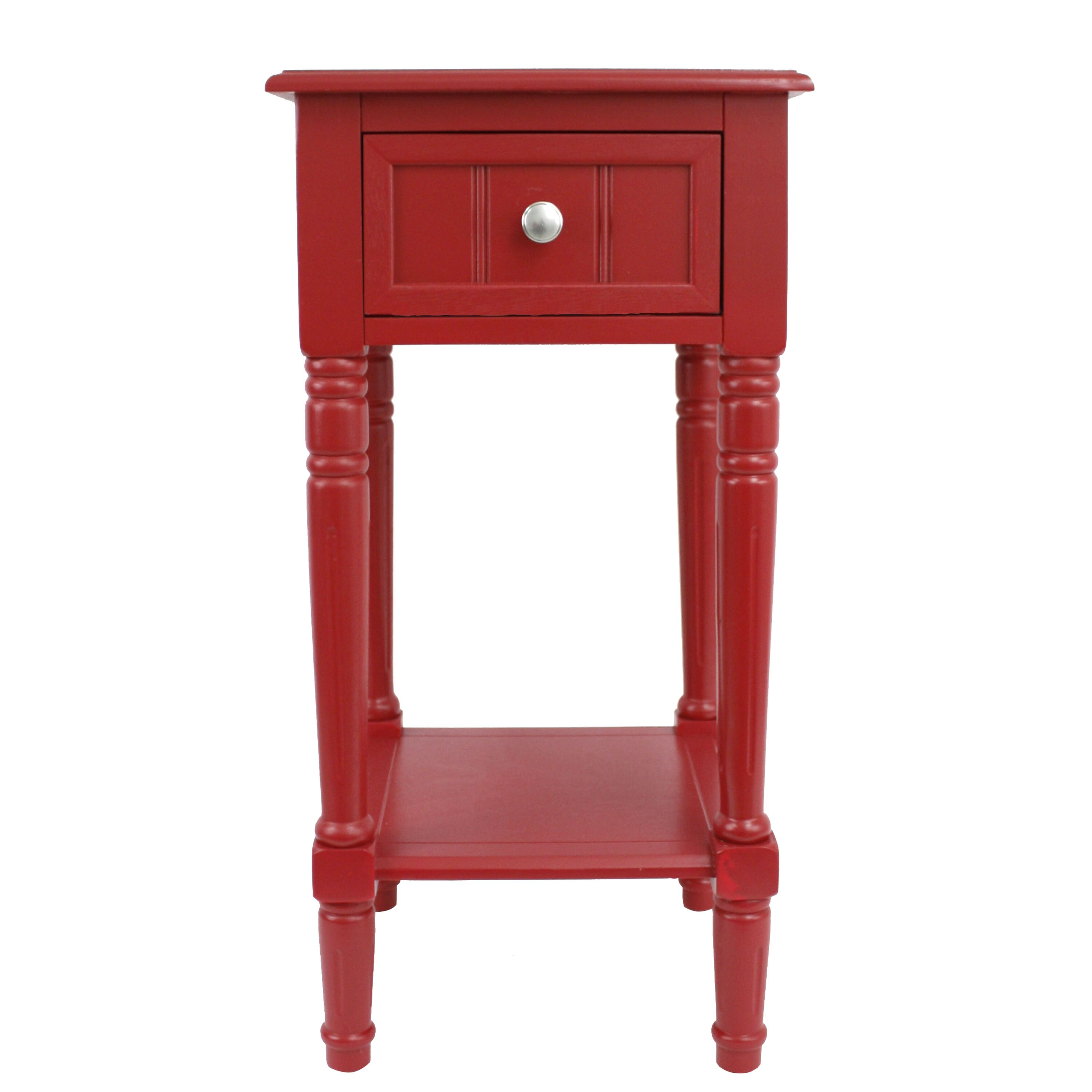 Decor Therapy 1 Drawer End Table & Reviews